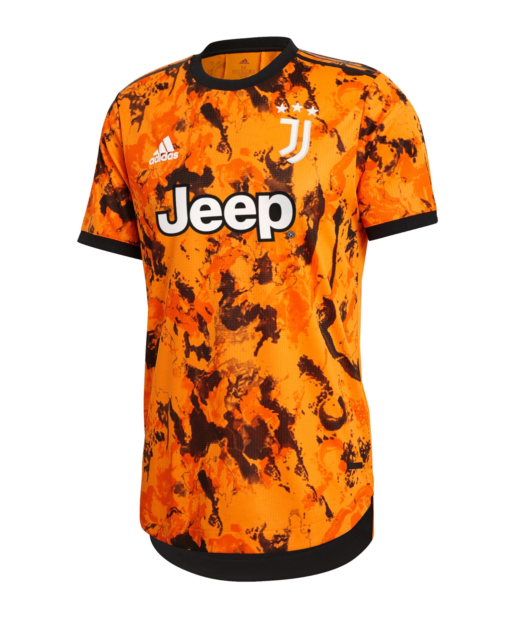 adidas Juventus Turin Auth. Trikot UCL 2020/2021 - orange