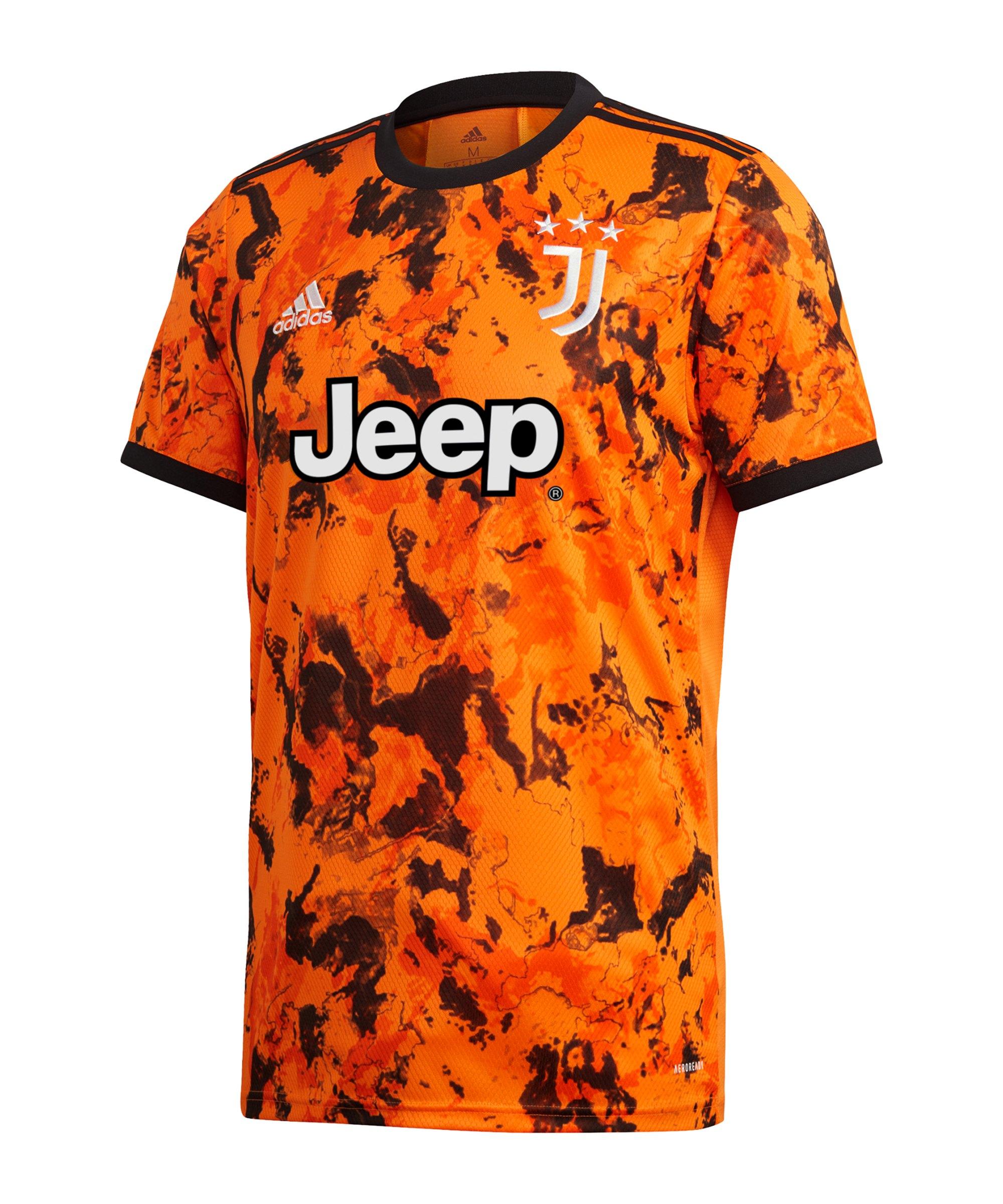 adidas Juventus Turin Trikot UCL 2020/2021 Orange - orange