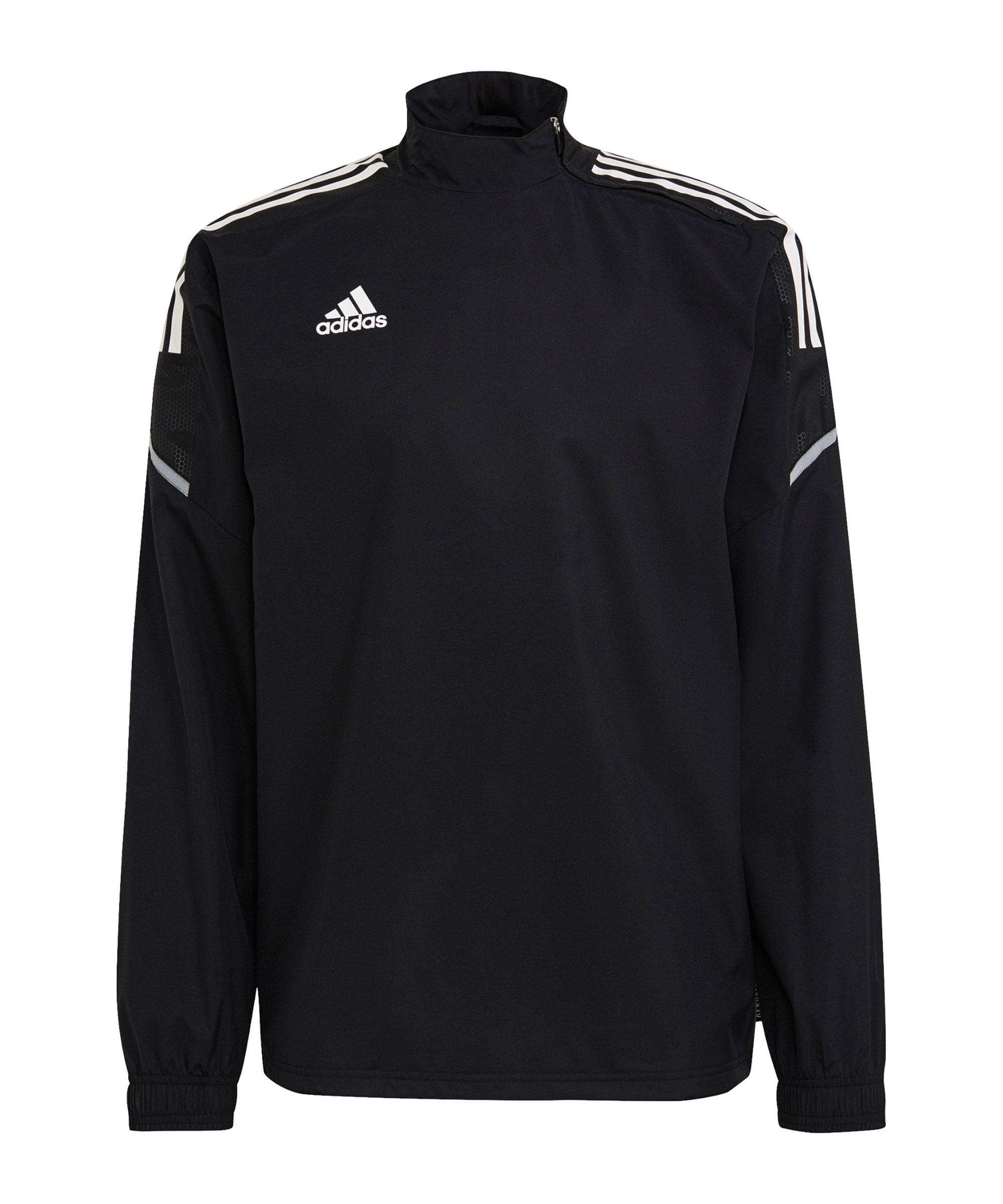 adidas Condivo 21 Hybrid Sweatshirt Schwarz - schwarz