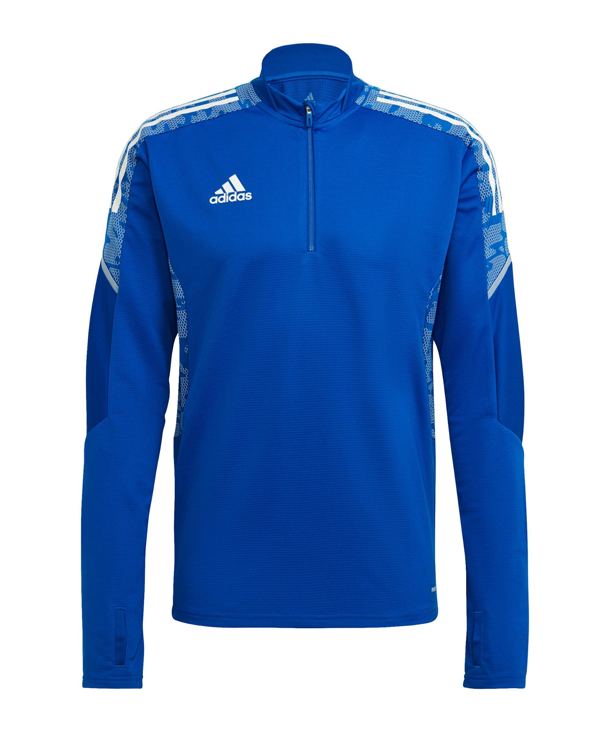 adidas Condivo 21 Trainingstop Blau Weiss - blau