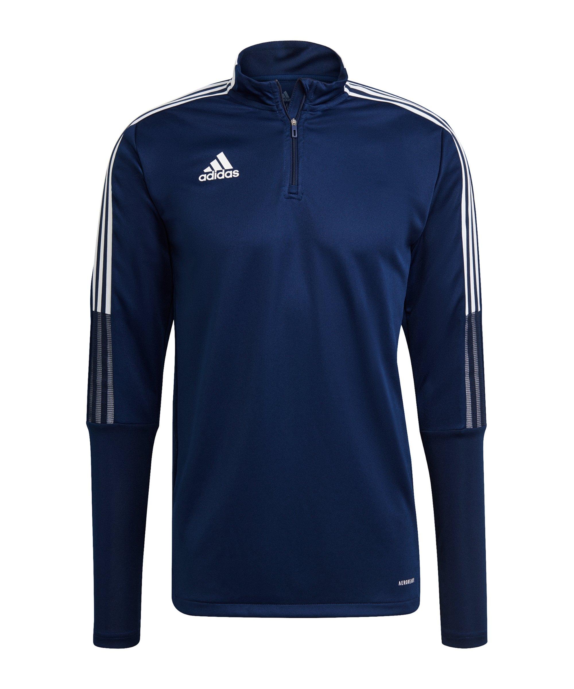adidas Tiro 21 Trainingstop Dunkelblau - blau
