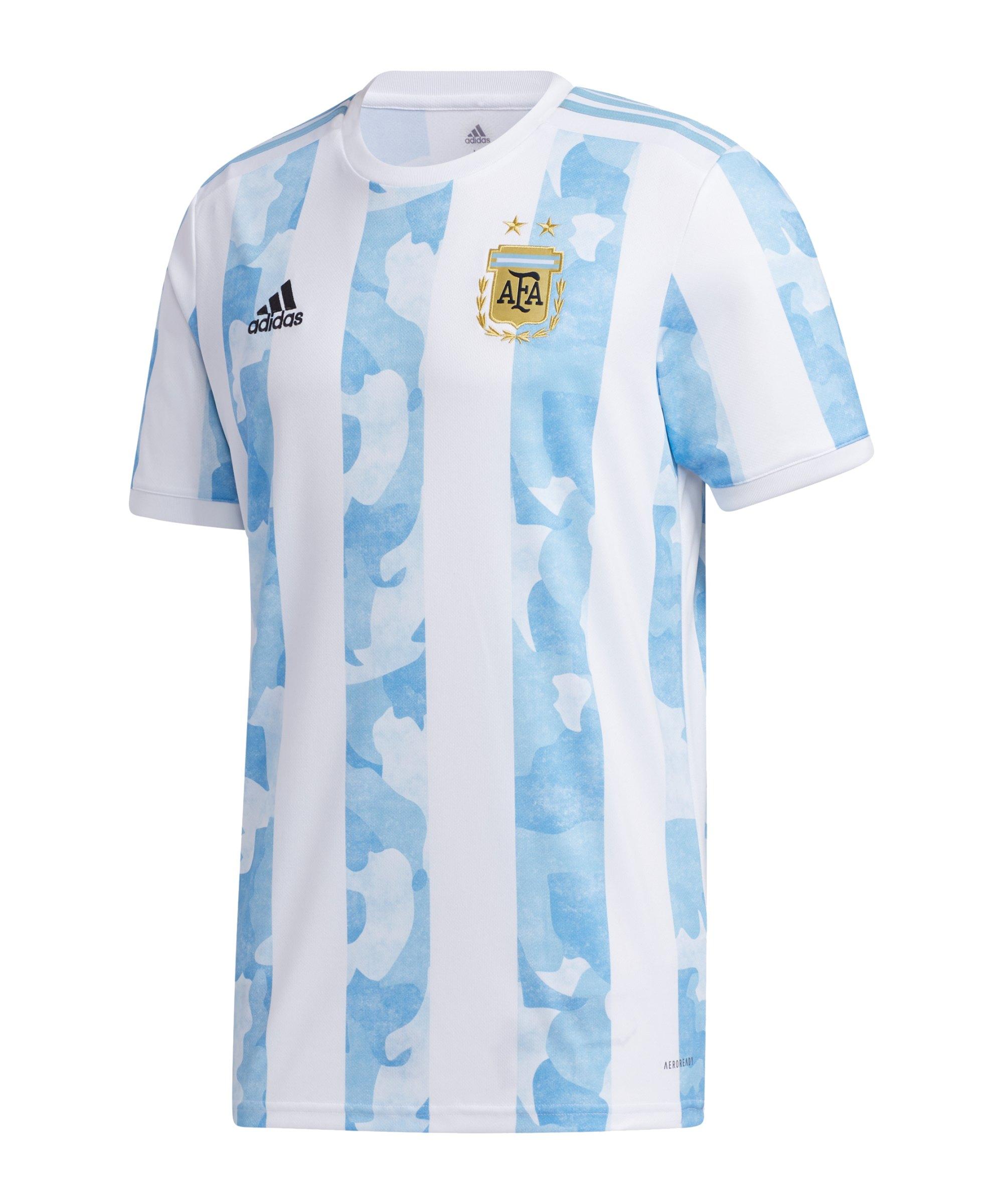 adidas Argentinien Trikot Home 2021 Kids Weiss - weiss