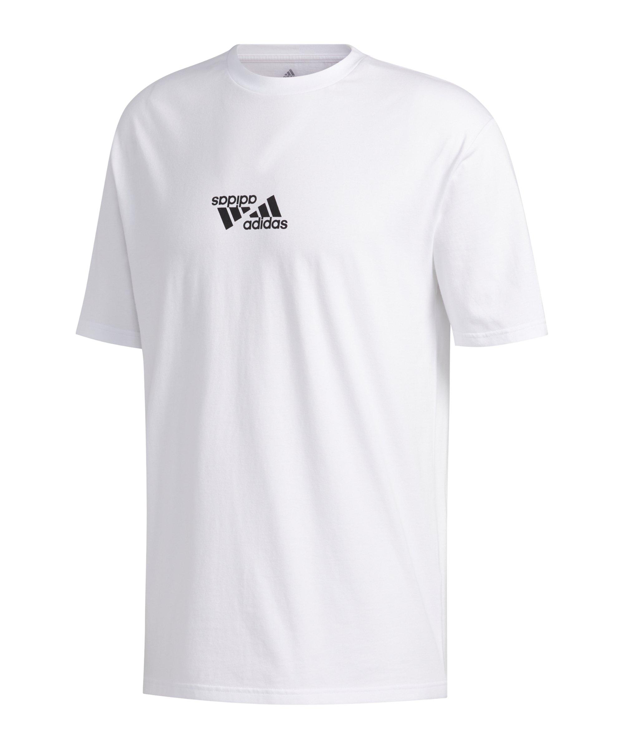 adidas One Team Graphic T-Shirt Weiss - weiss