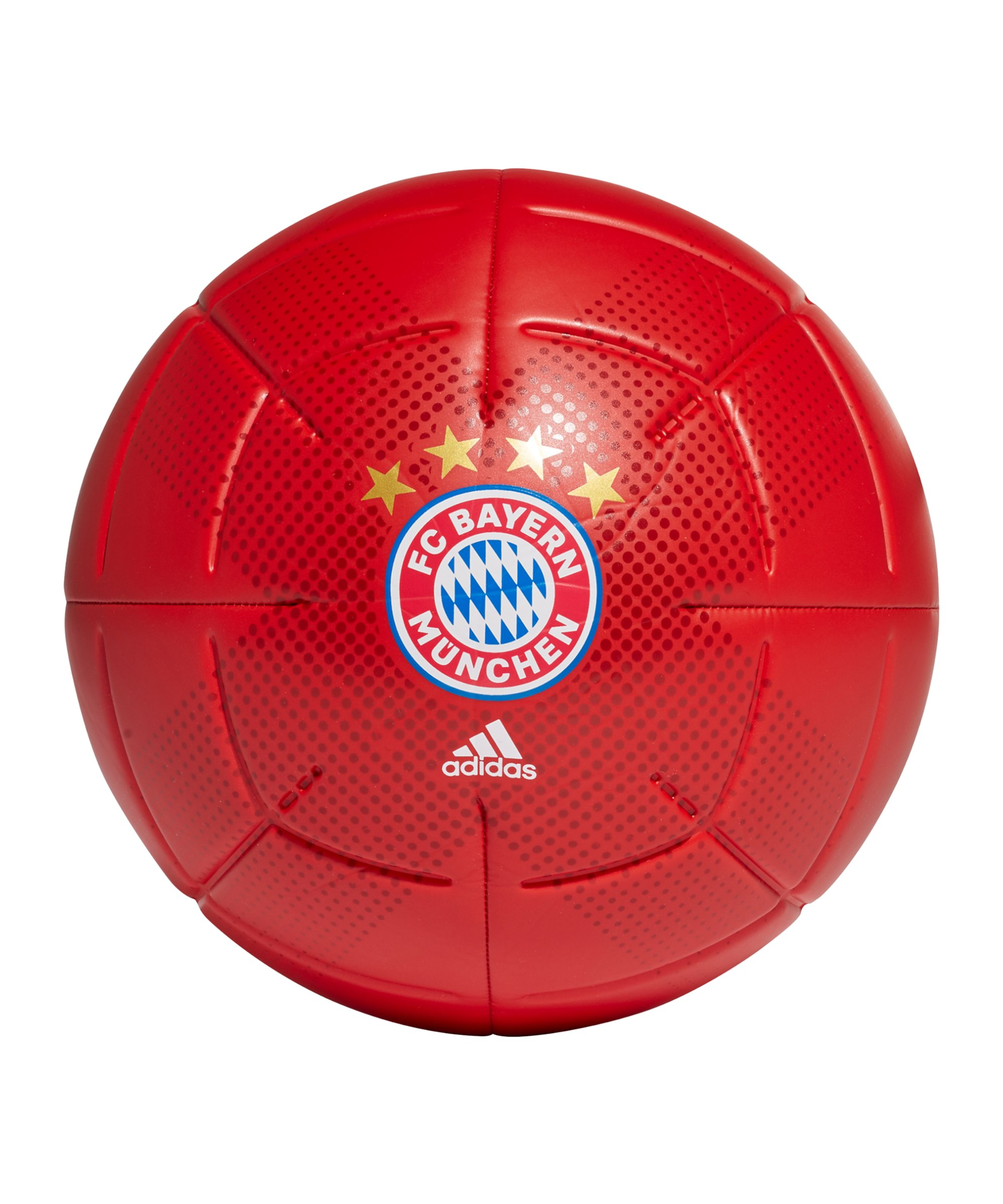 adidas FC Bayern München Club Fussball Rot Weiss - rot