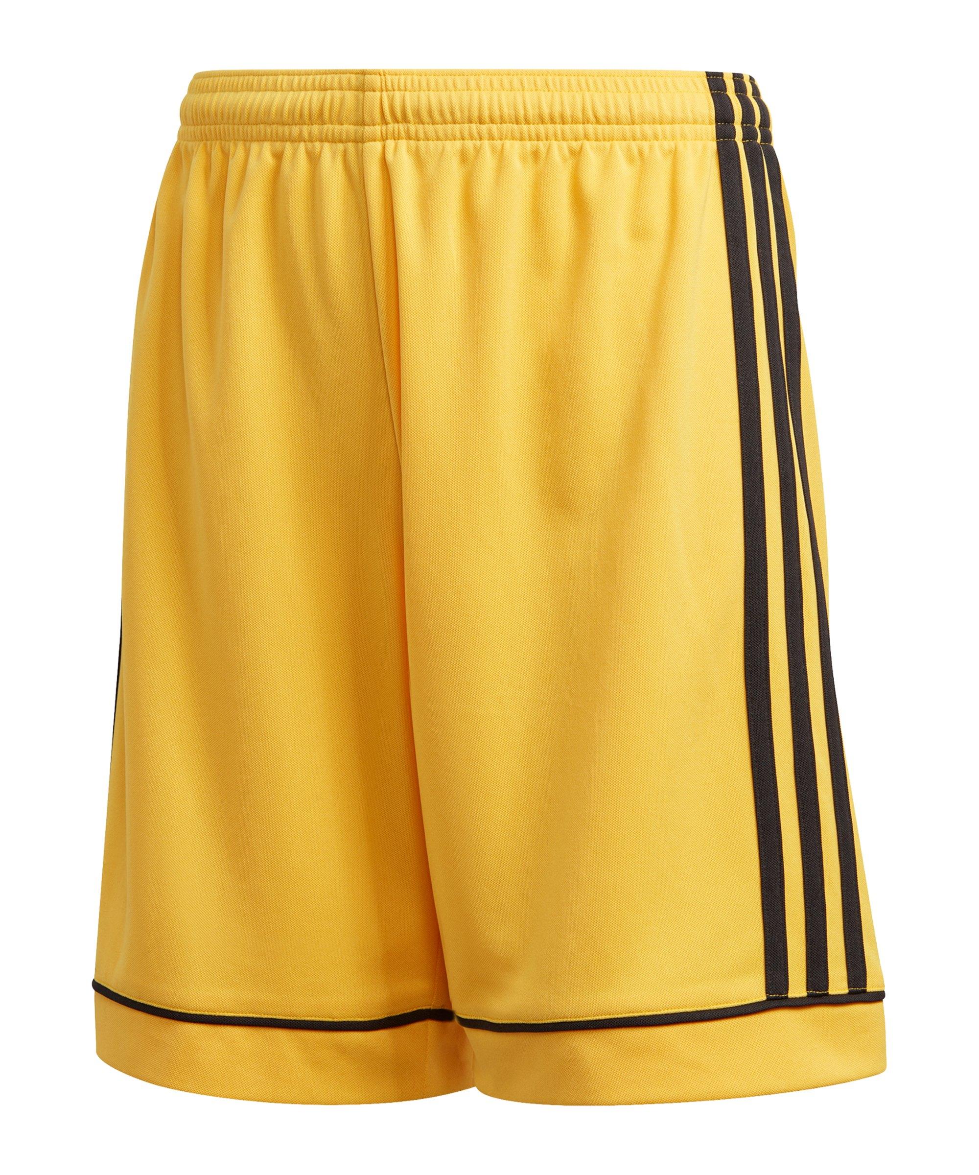 adidas Squadra 17 Short ohne Innenslip Kids Gold - gold