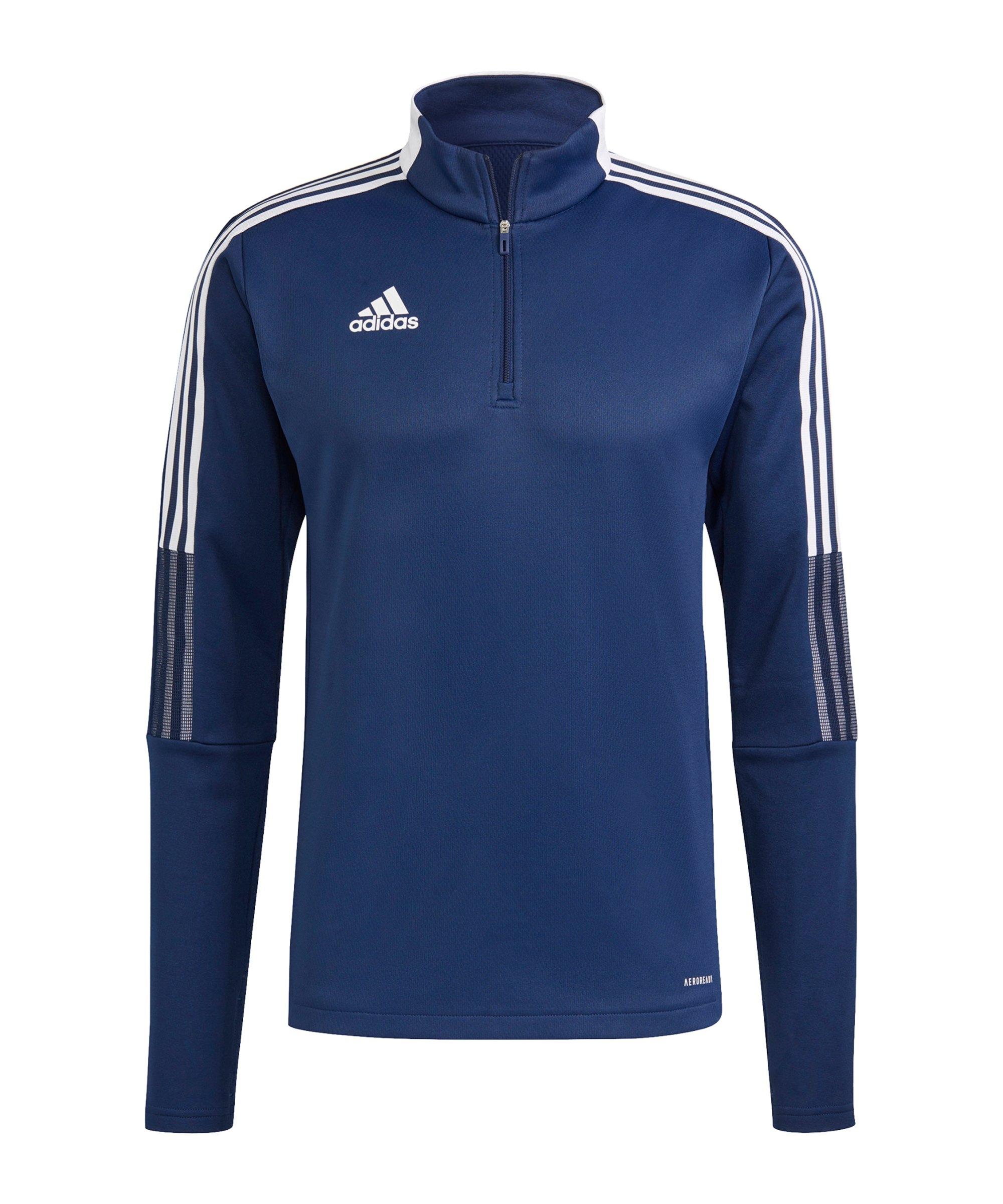 adidas Tiro 21 Warmtop Dunkelblau - blau