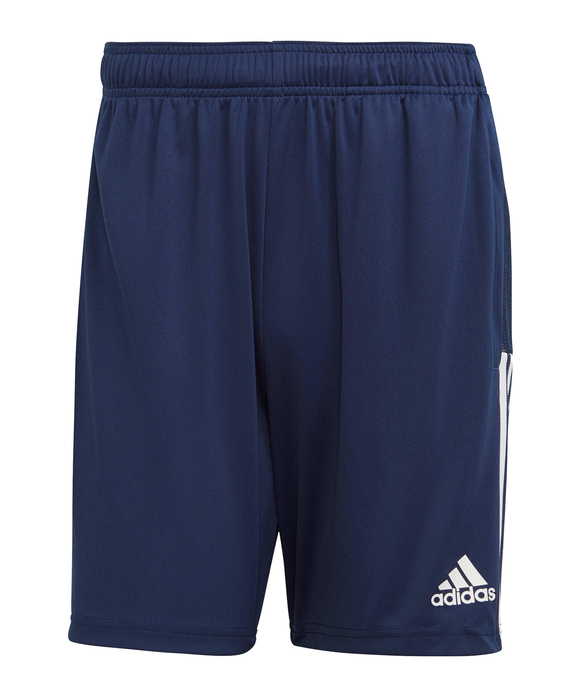 adidas Tiro 21 Short Dunkelblau - blau