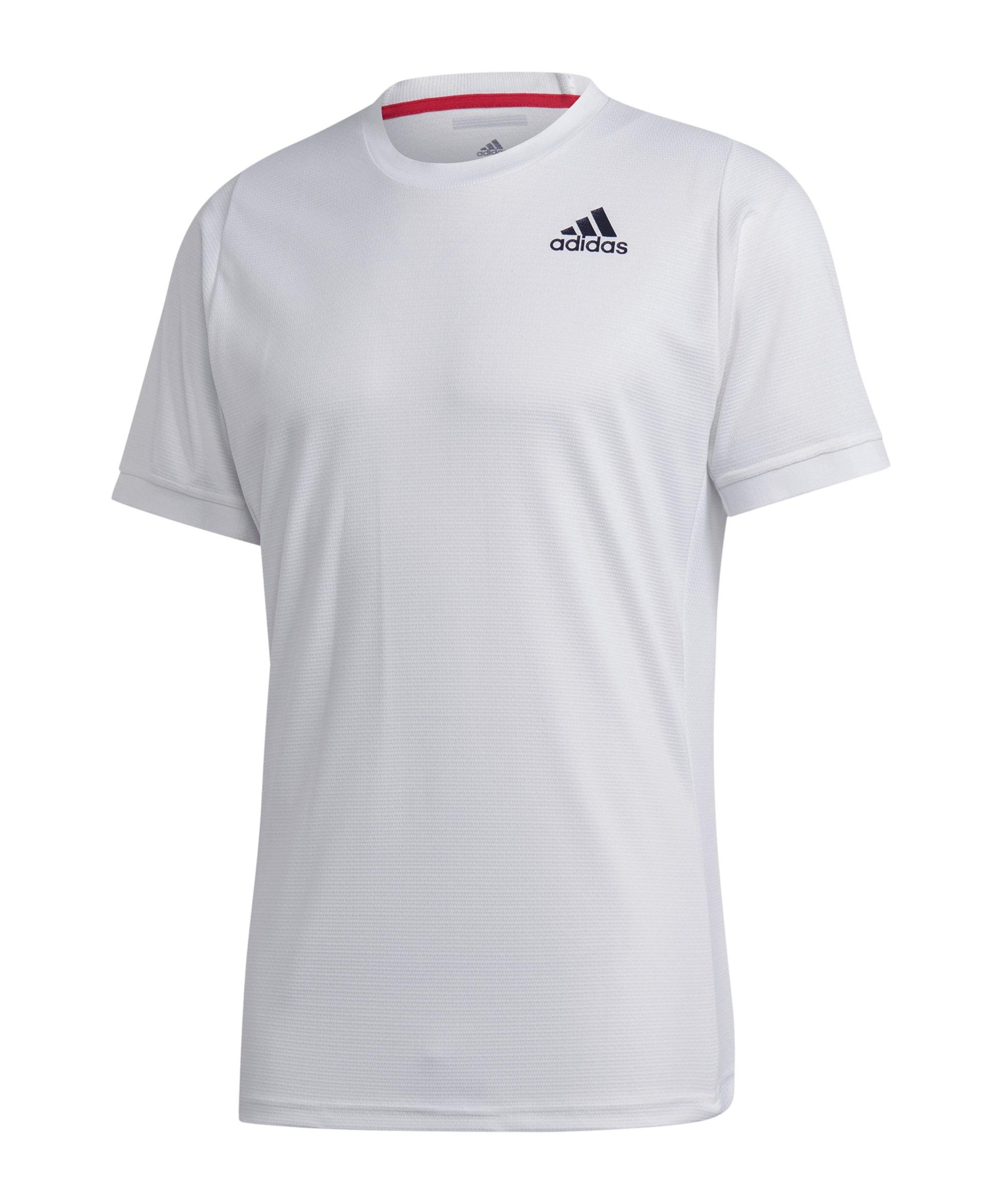 adidas Freelift Solid T-Shirt Weiss - weiss