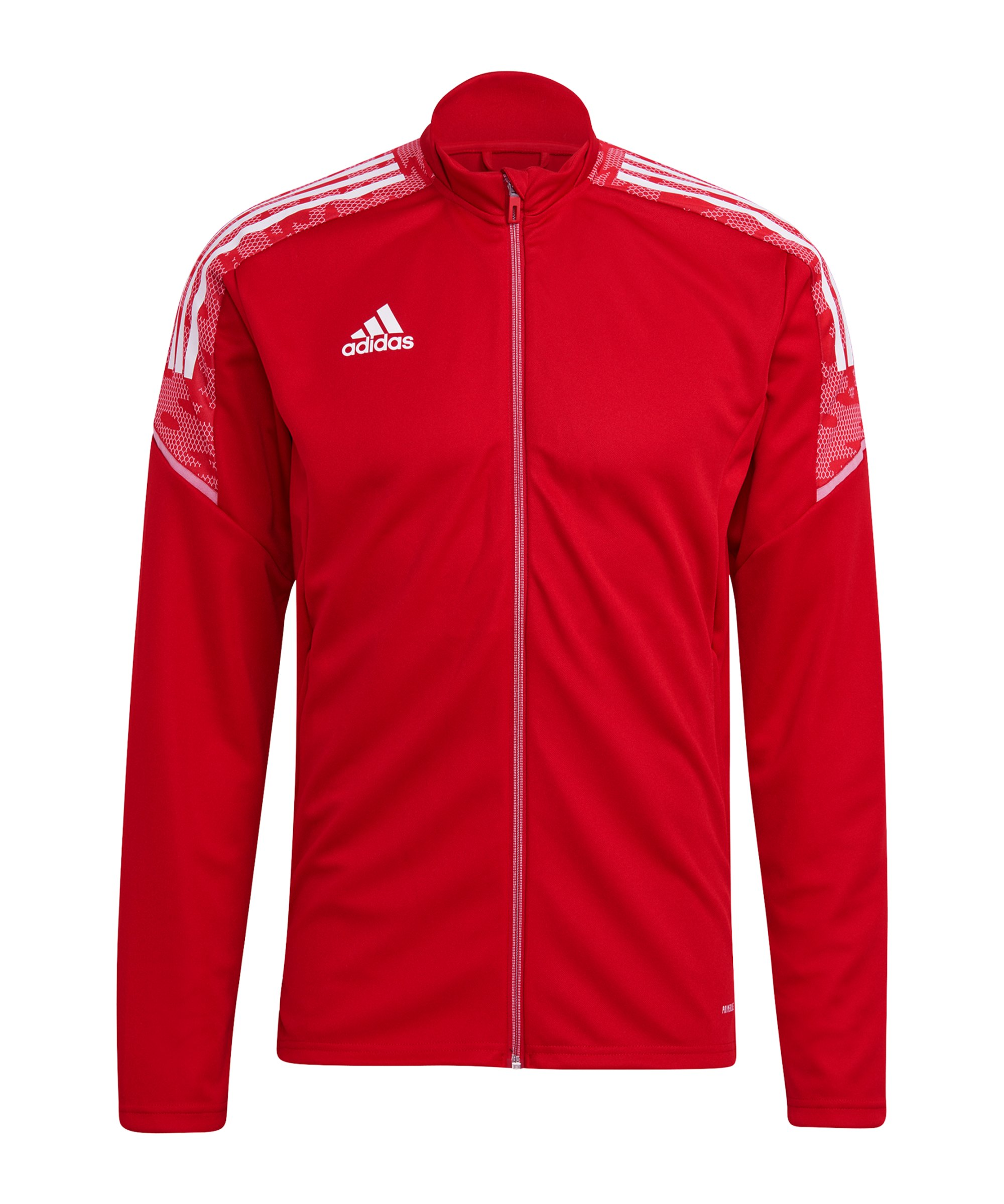 adidas Condivo 21 Trainingsjacke Rot Weiss - rot