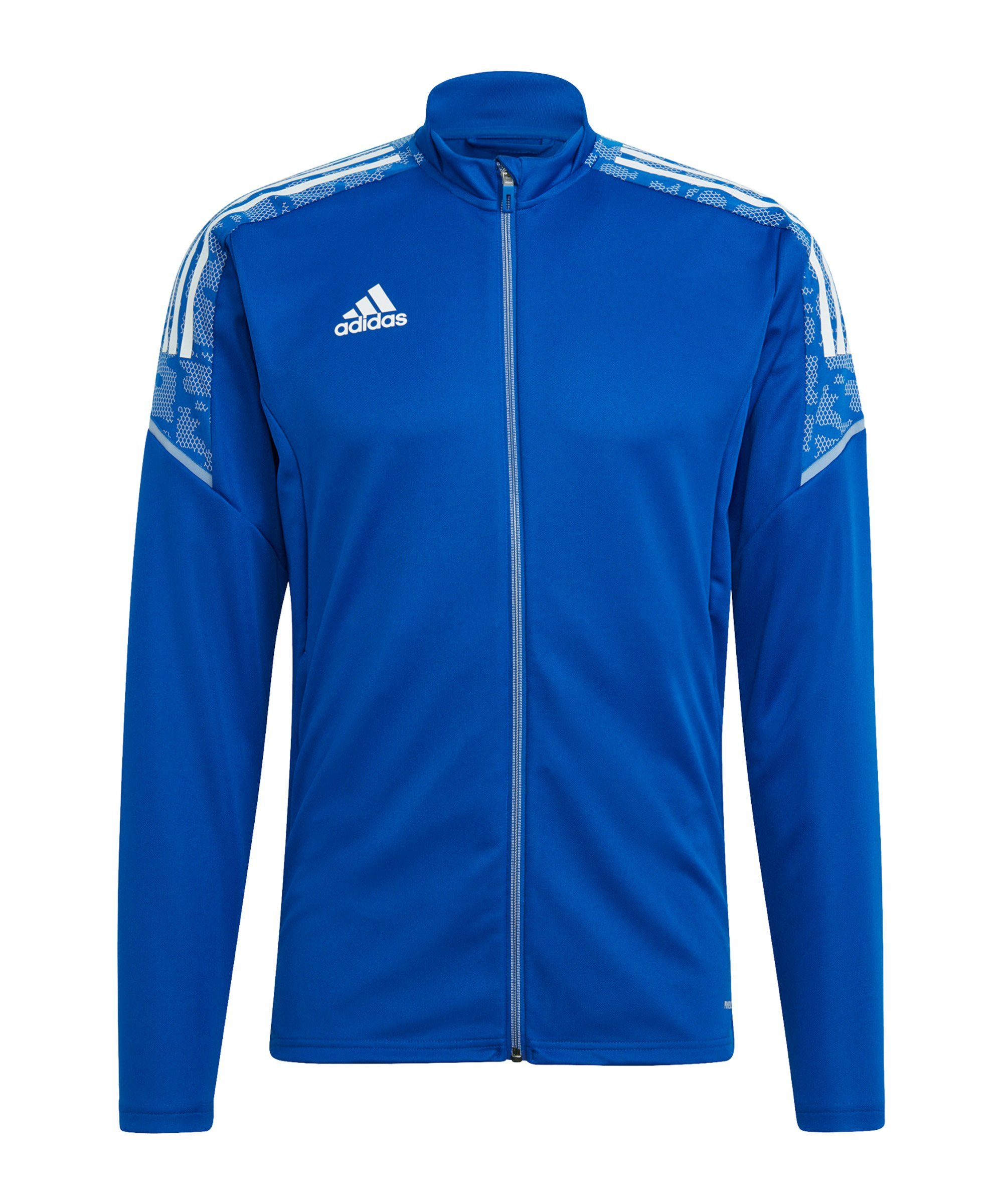 adidas Condivo 21 Trainingsjacke Blau Weiss - blau