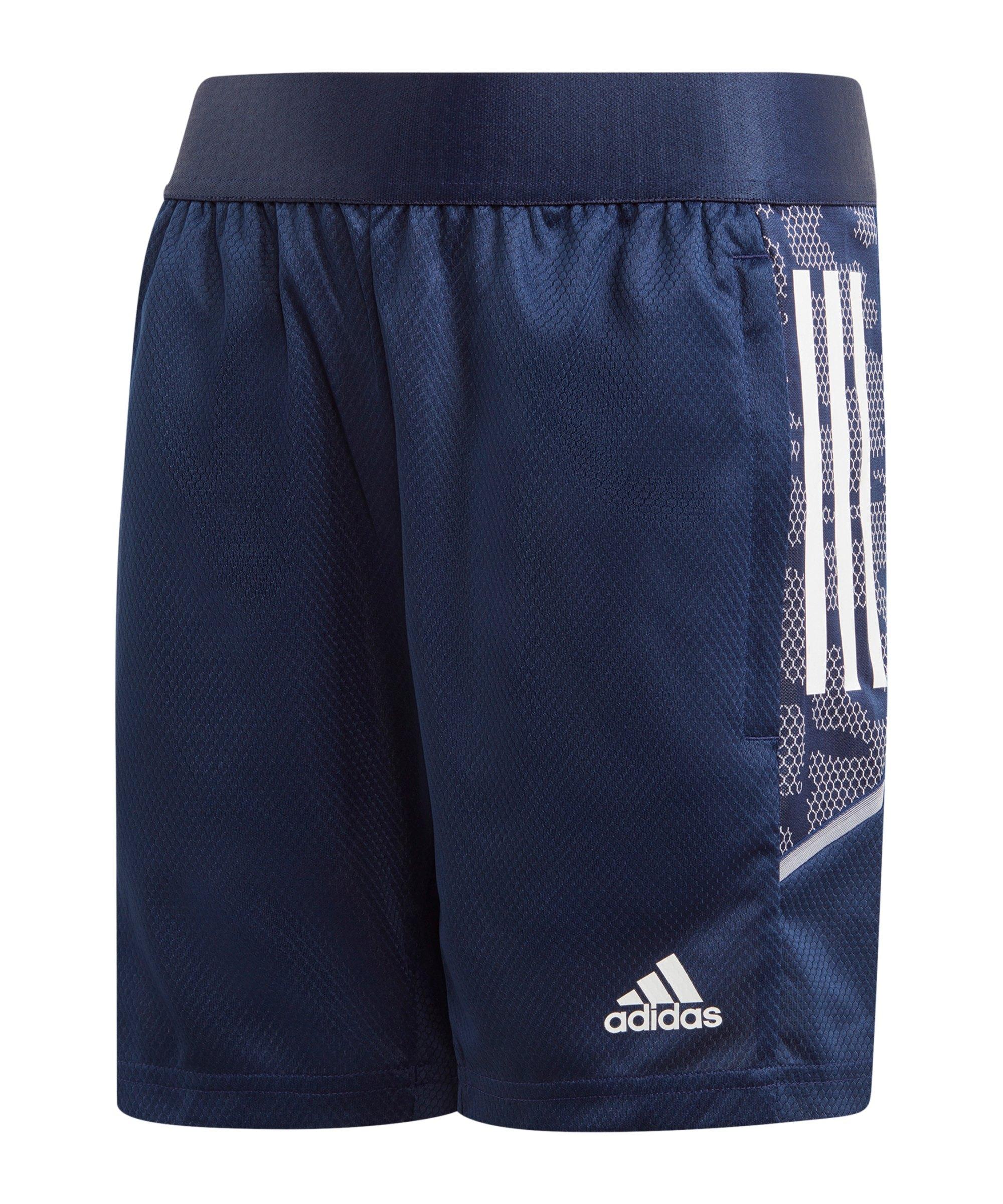 adidas Condivo 21 Short Kids Dunkelblau - blau