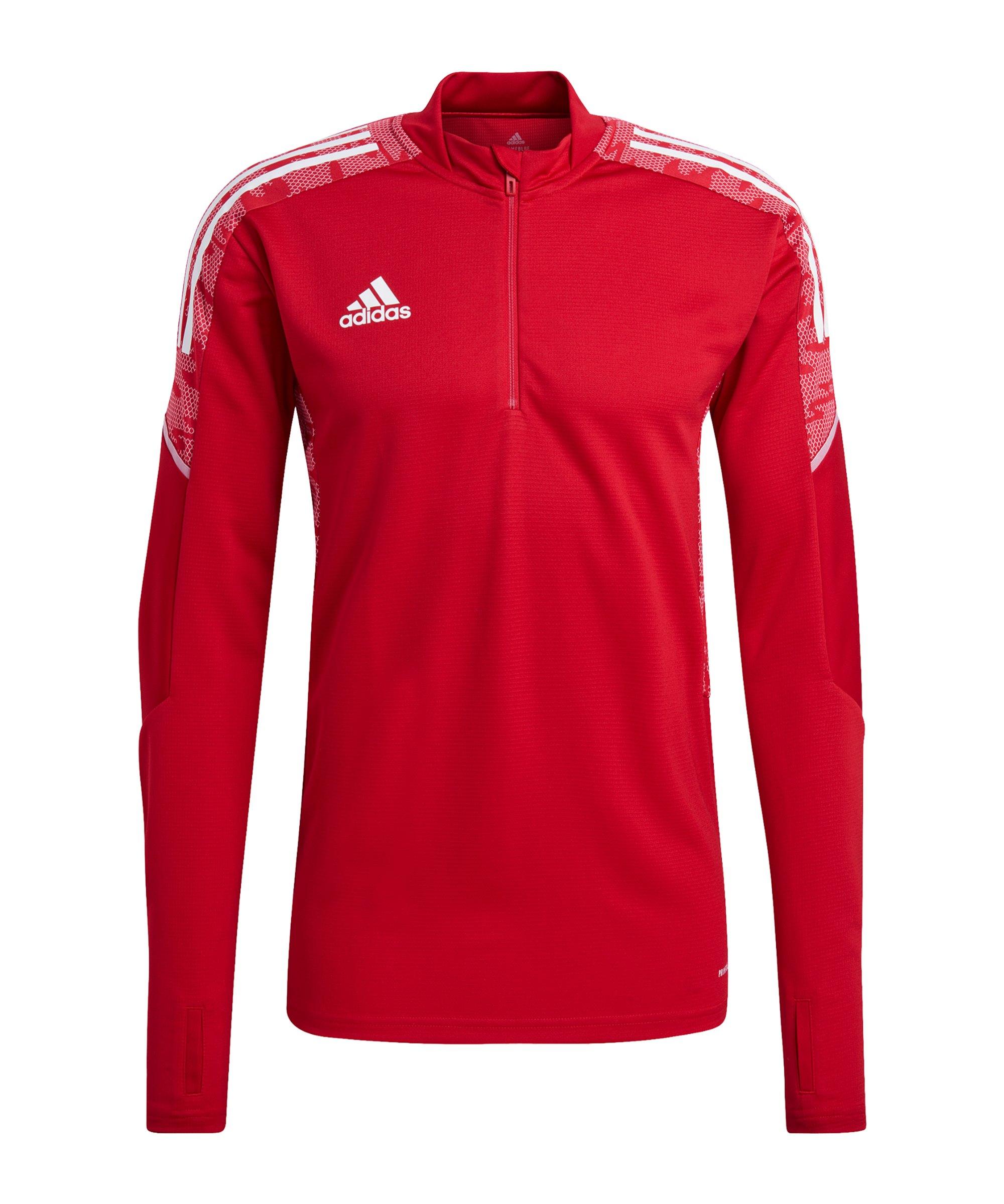 adidas Condivo 21 Trainingstop Rot Weiss - rot