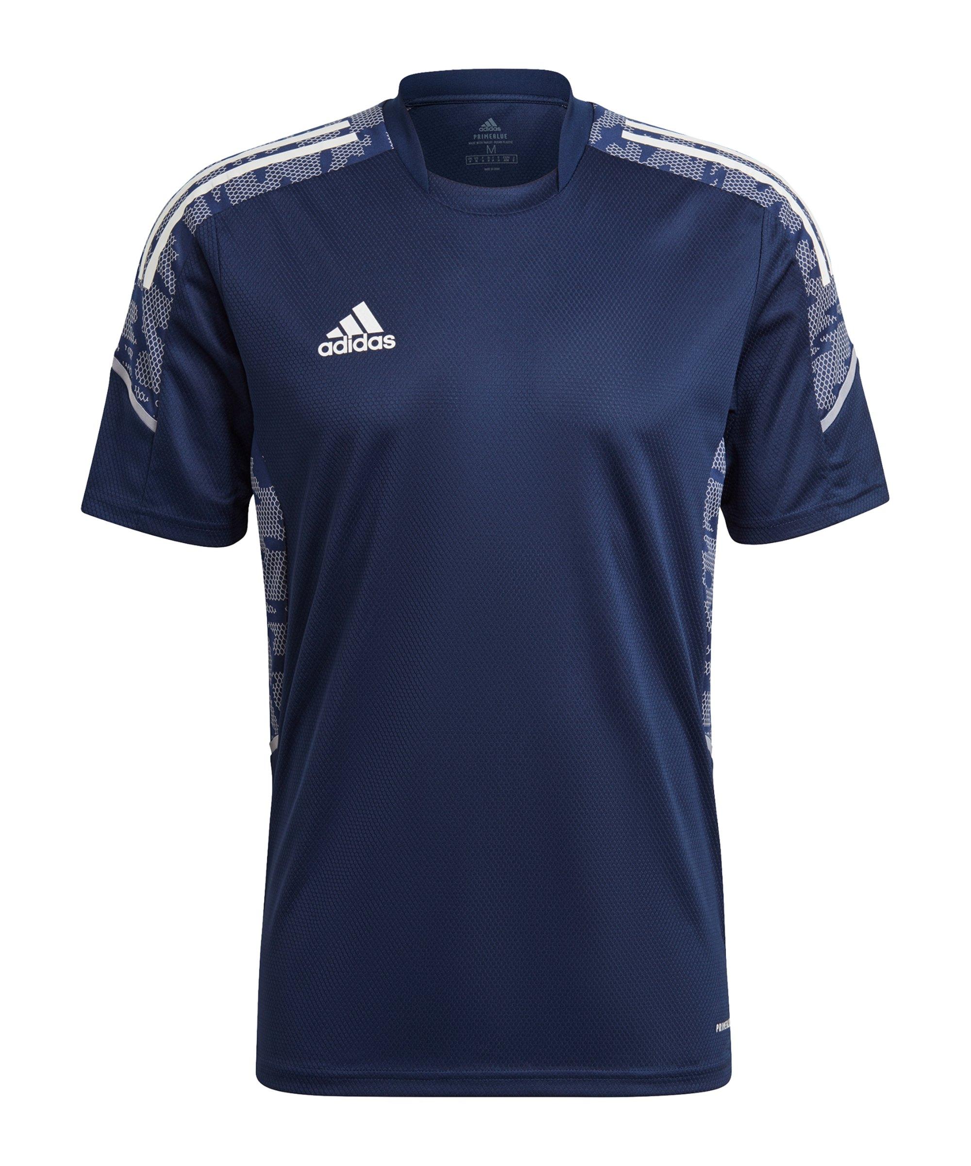 adidas Condivo 21 Trainingsshirt Blau - blau