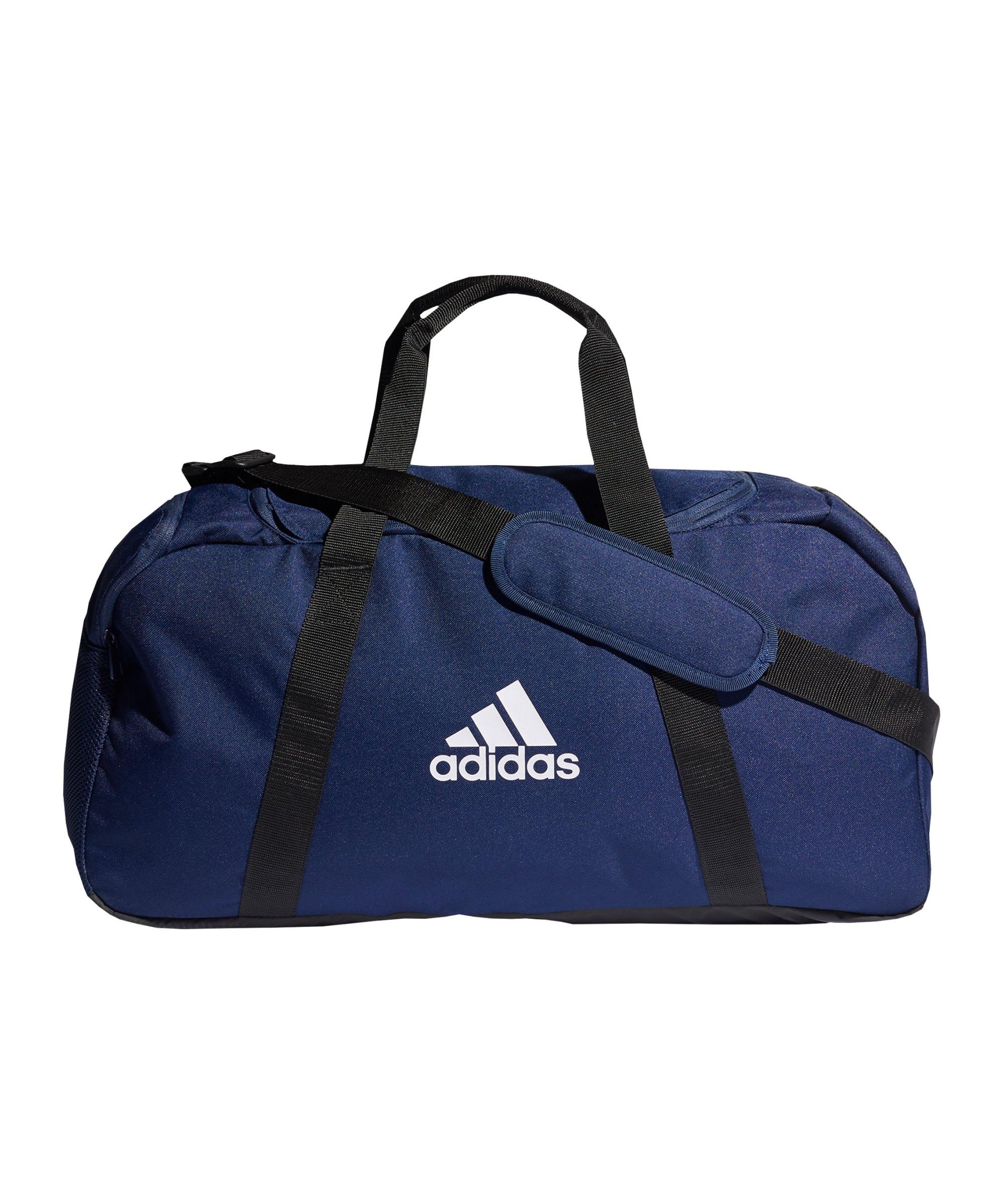 adidas Tiro Duffle Bag Gr. M Blau - blau