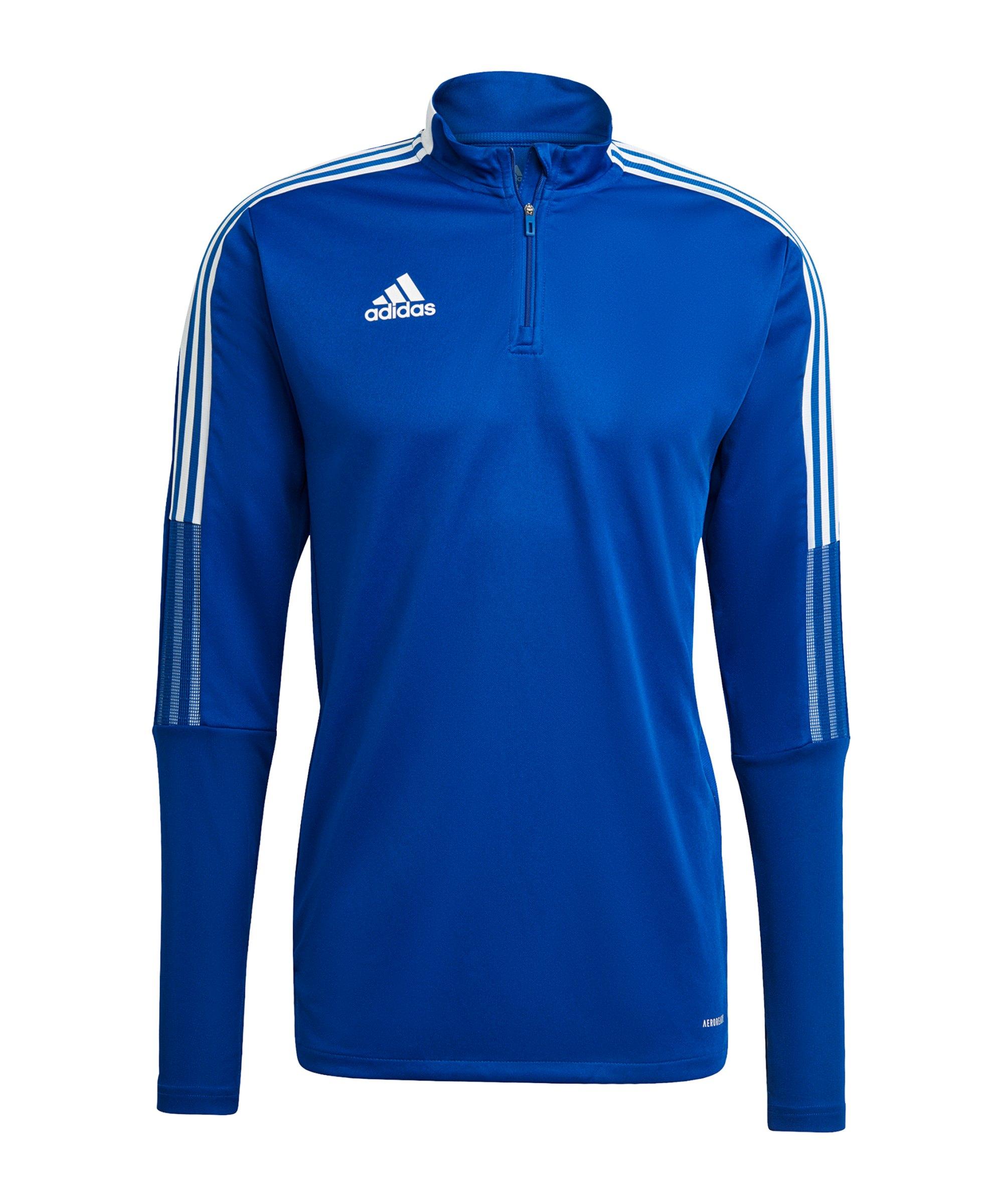 adidas Tiro 21 Trainingstop Blau - blau