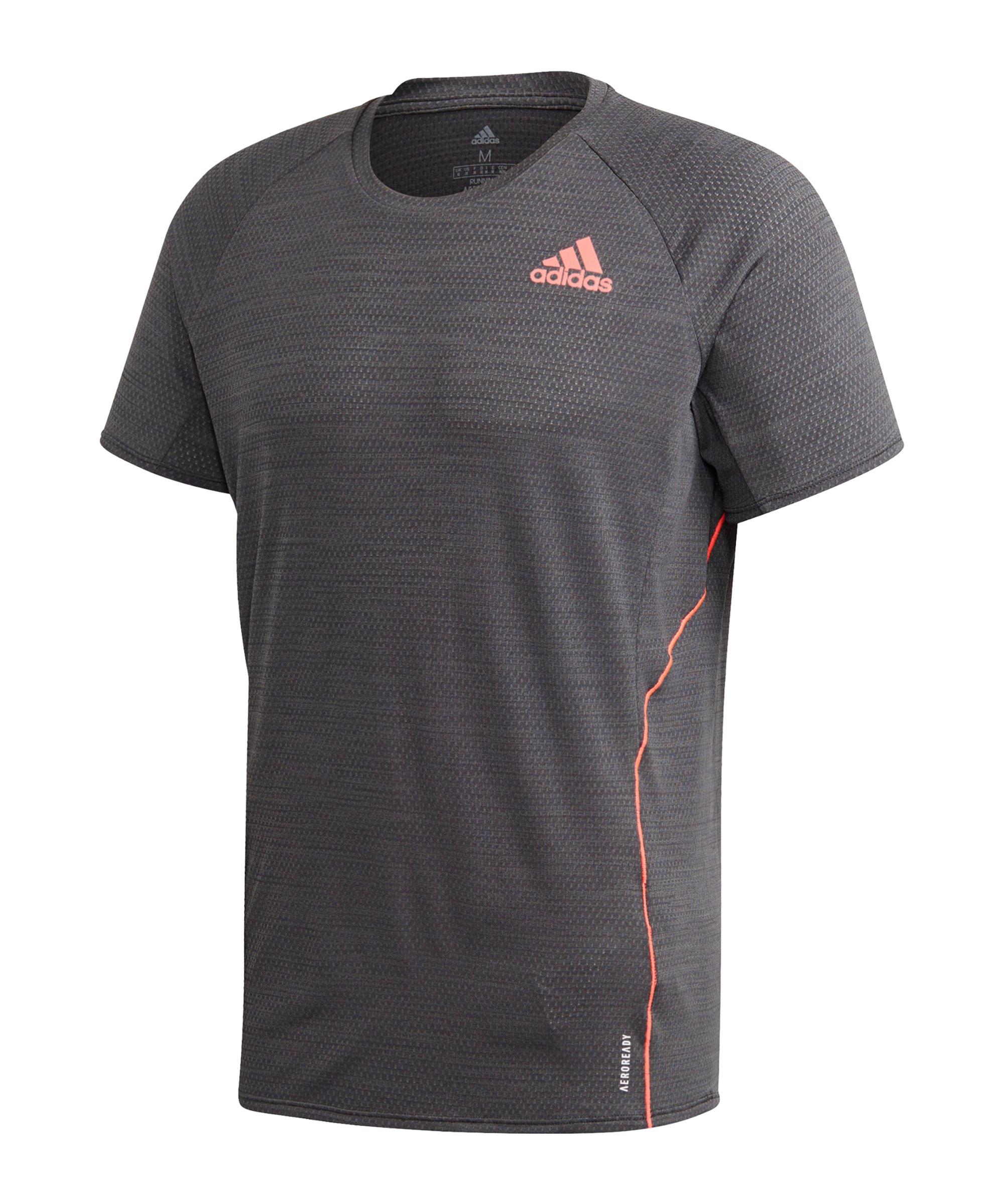 adidas Runner T-Shirt Running Grau - grau