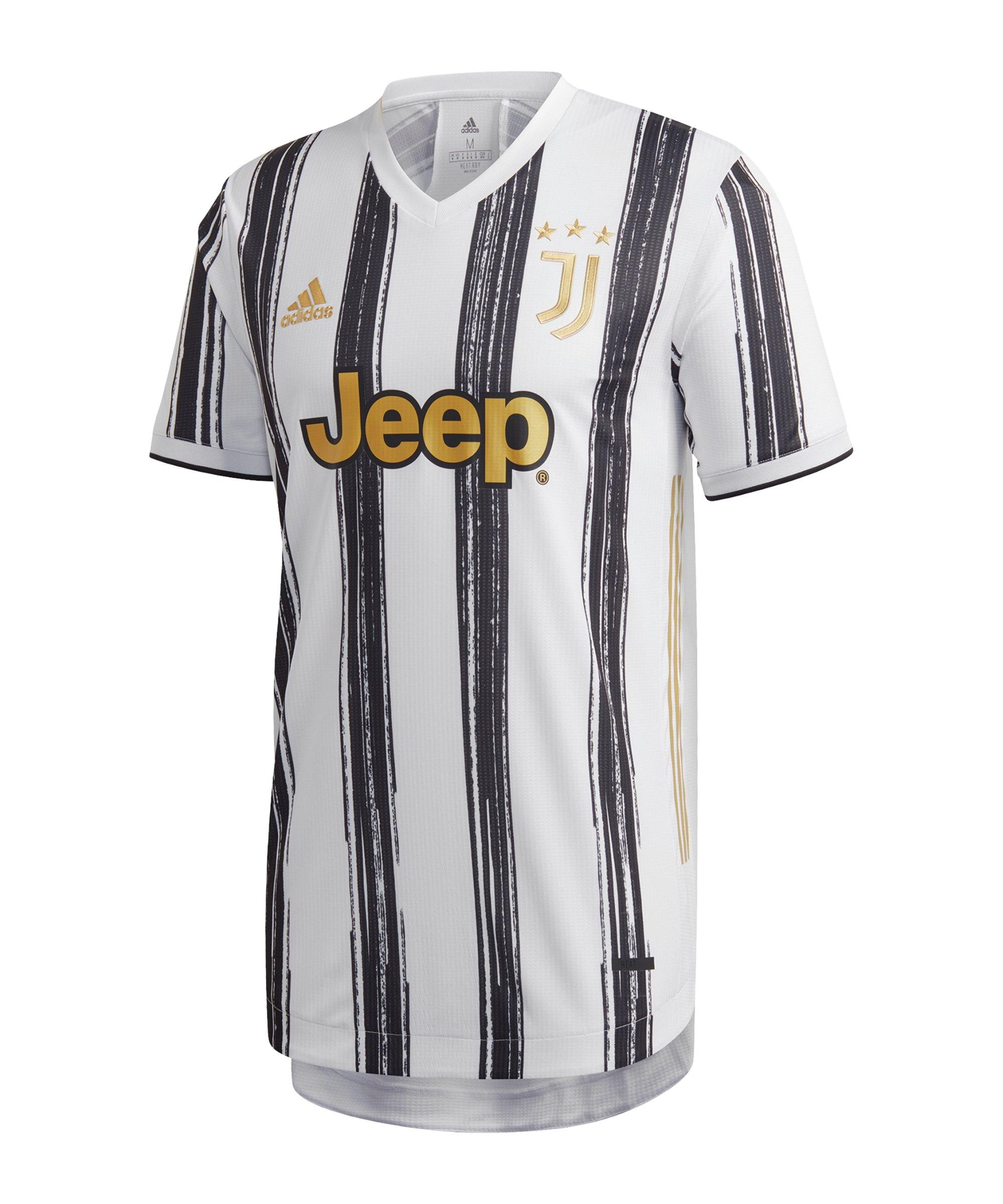 adidas Juventus Turin Auth. Trikot Home 2020/2021 - schwarz