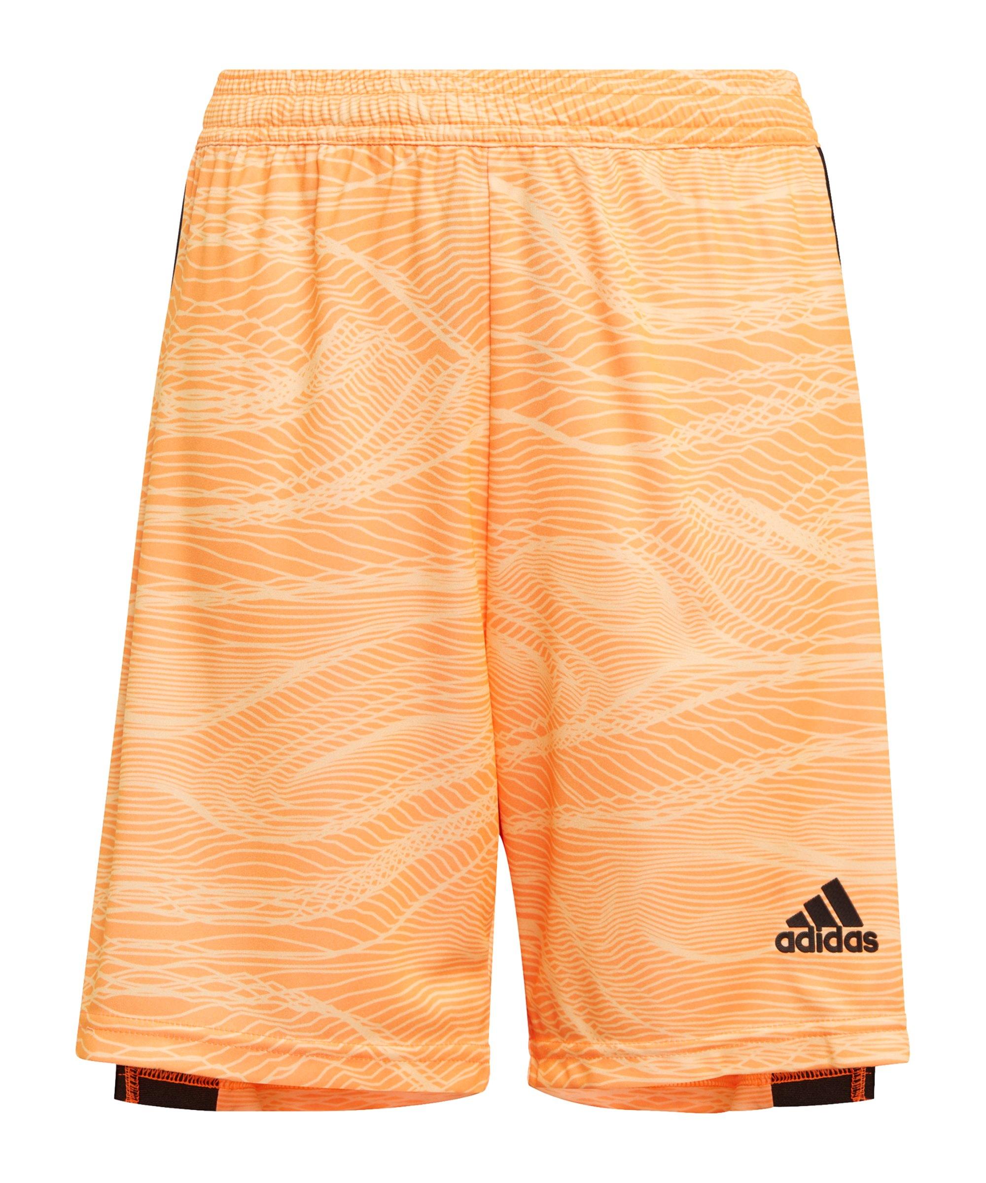 adidas Condivo 21 Torwartshort Kids Orange - orange