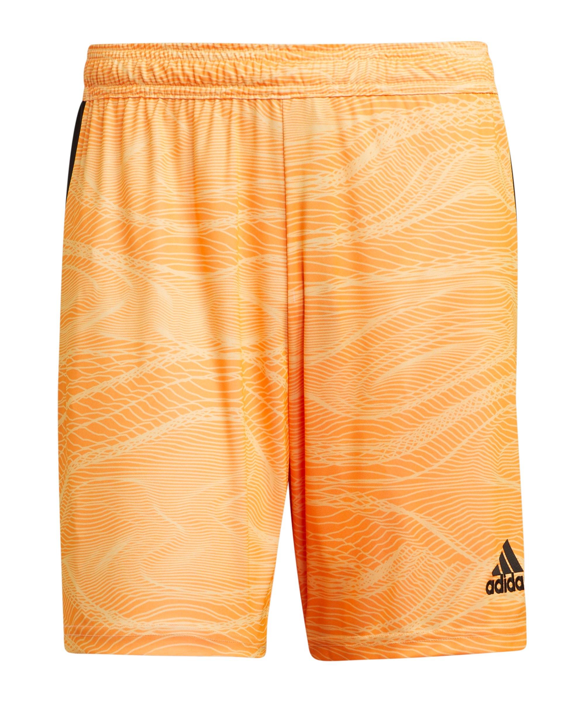 adidas Condivo 21 Torwartshort Orange - orange