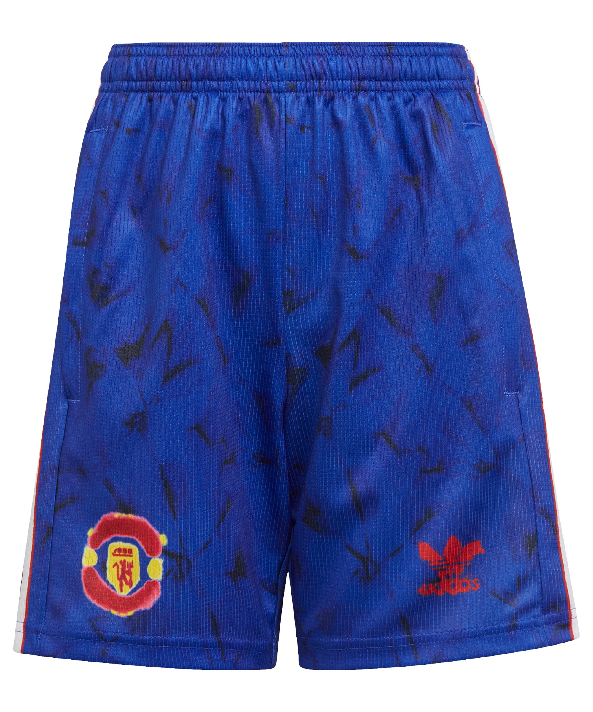 adidas Manchester United HR Short Kids Blau - blau
