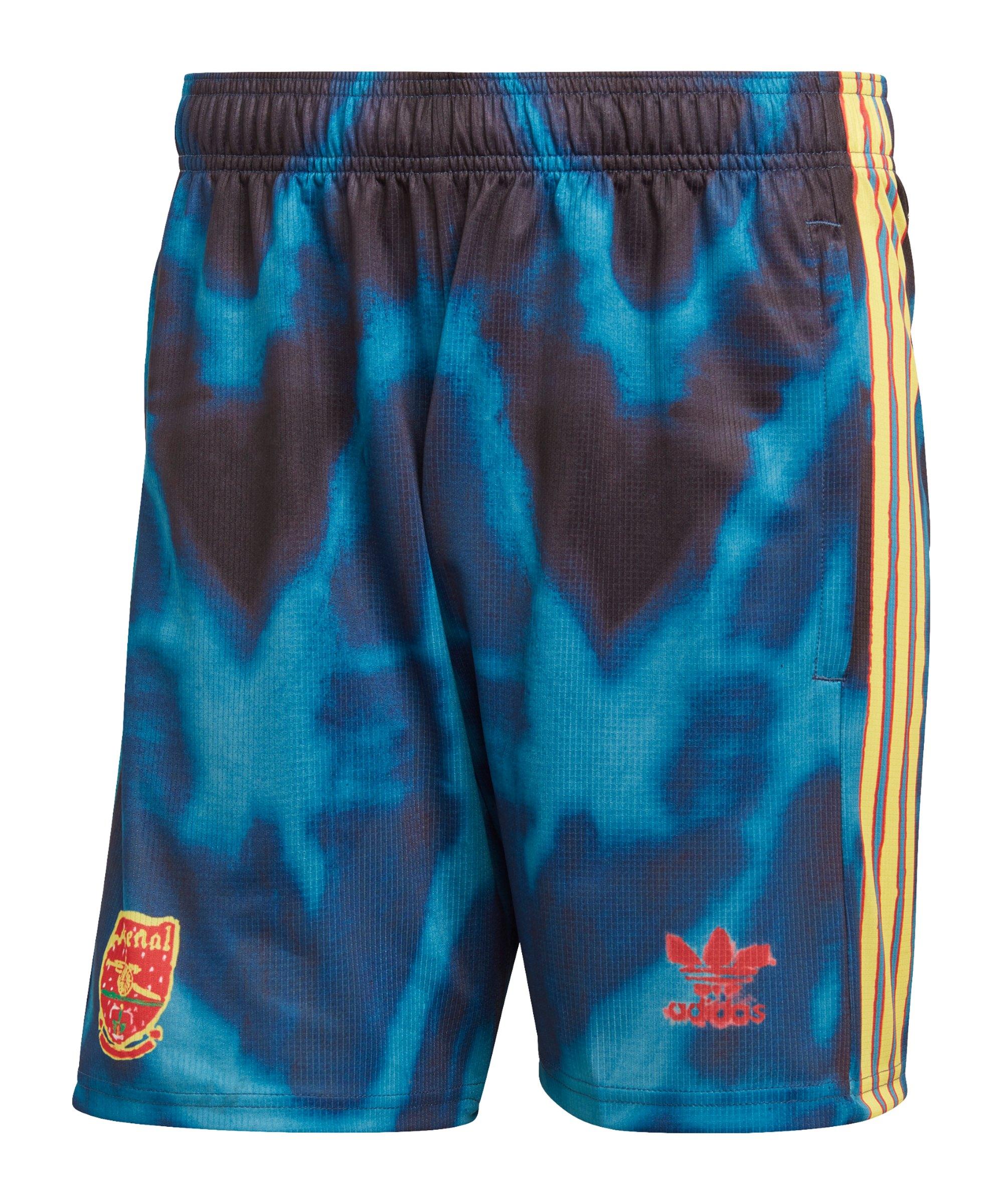 adidas FC Arsenal London Human Race Short Blau - blau