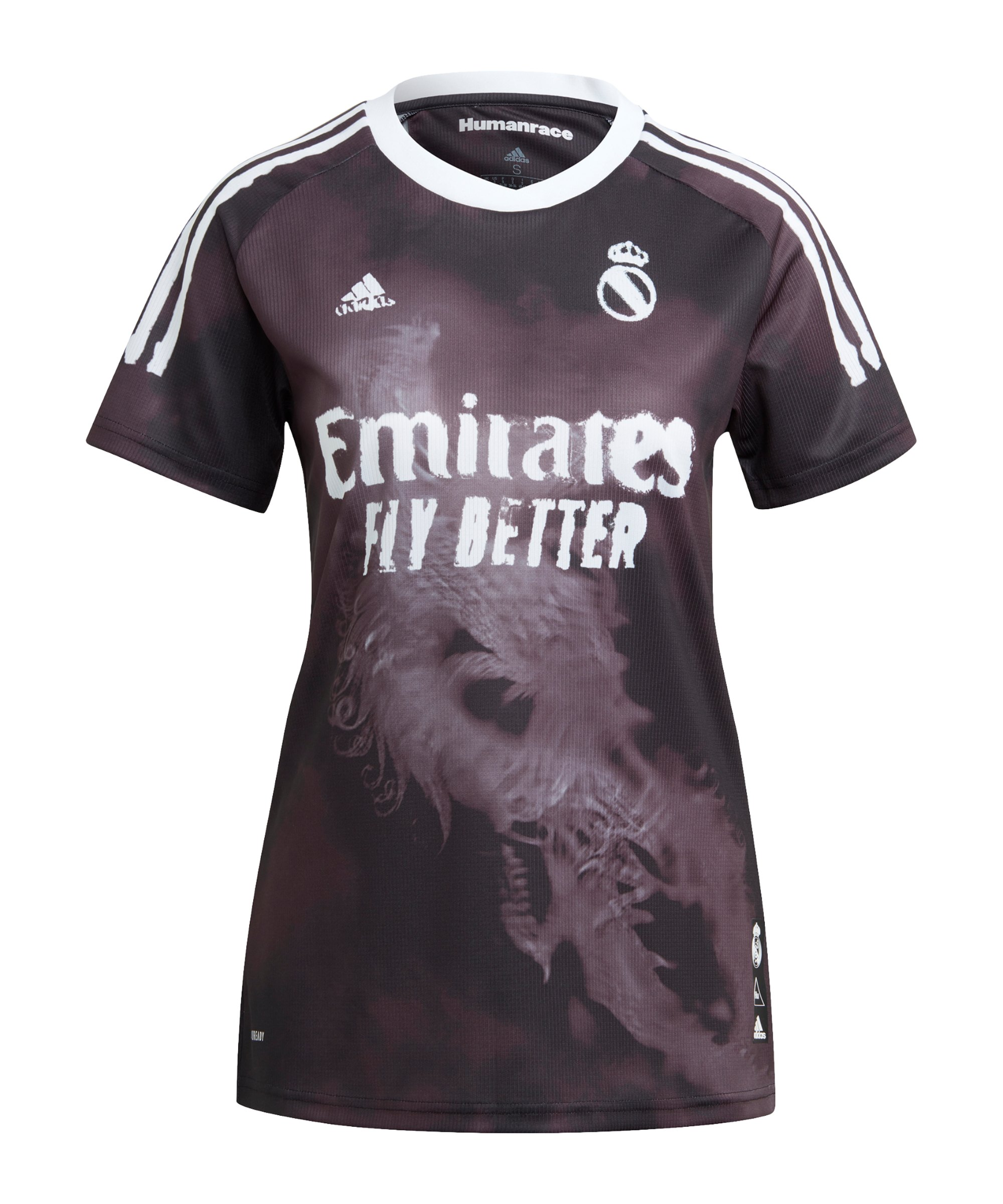 adidas Real Madrid Human Race Trikot Damen Schwarz - schwarz