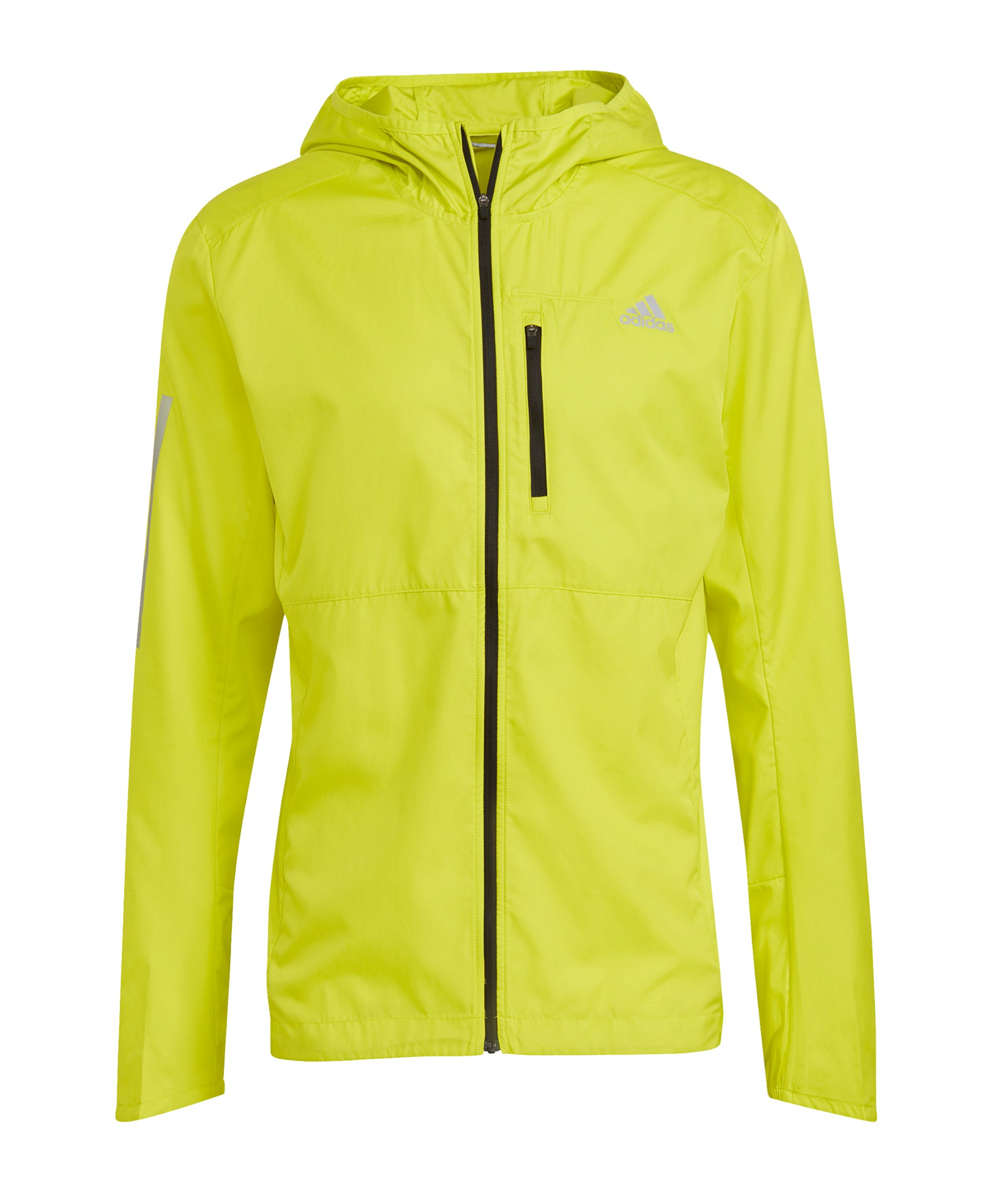 adidas Own The Run Jacke Running Gelb - gelb