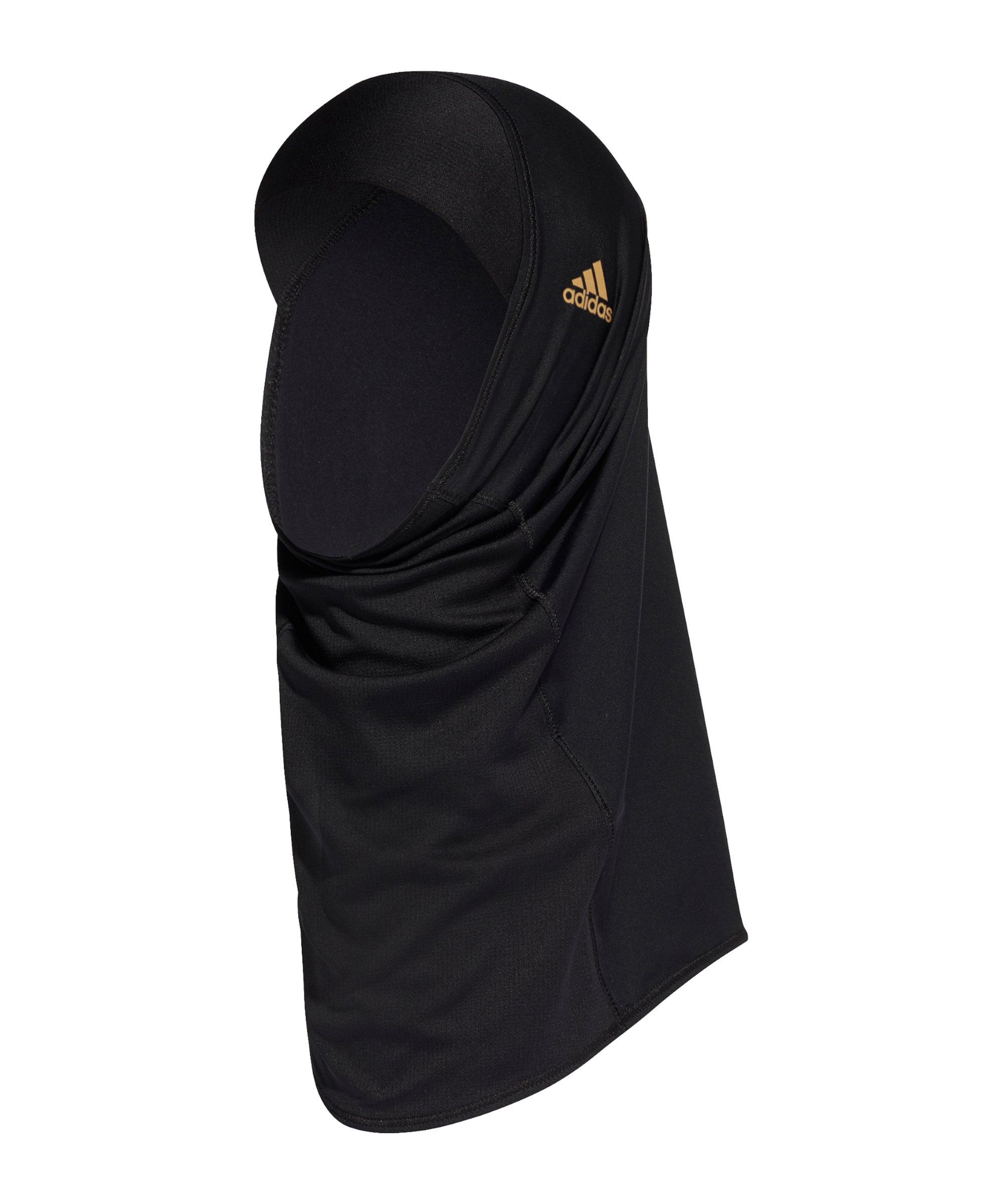 adidas Hijab II Kopftuch Running Damen Schwarz - schwarz