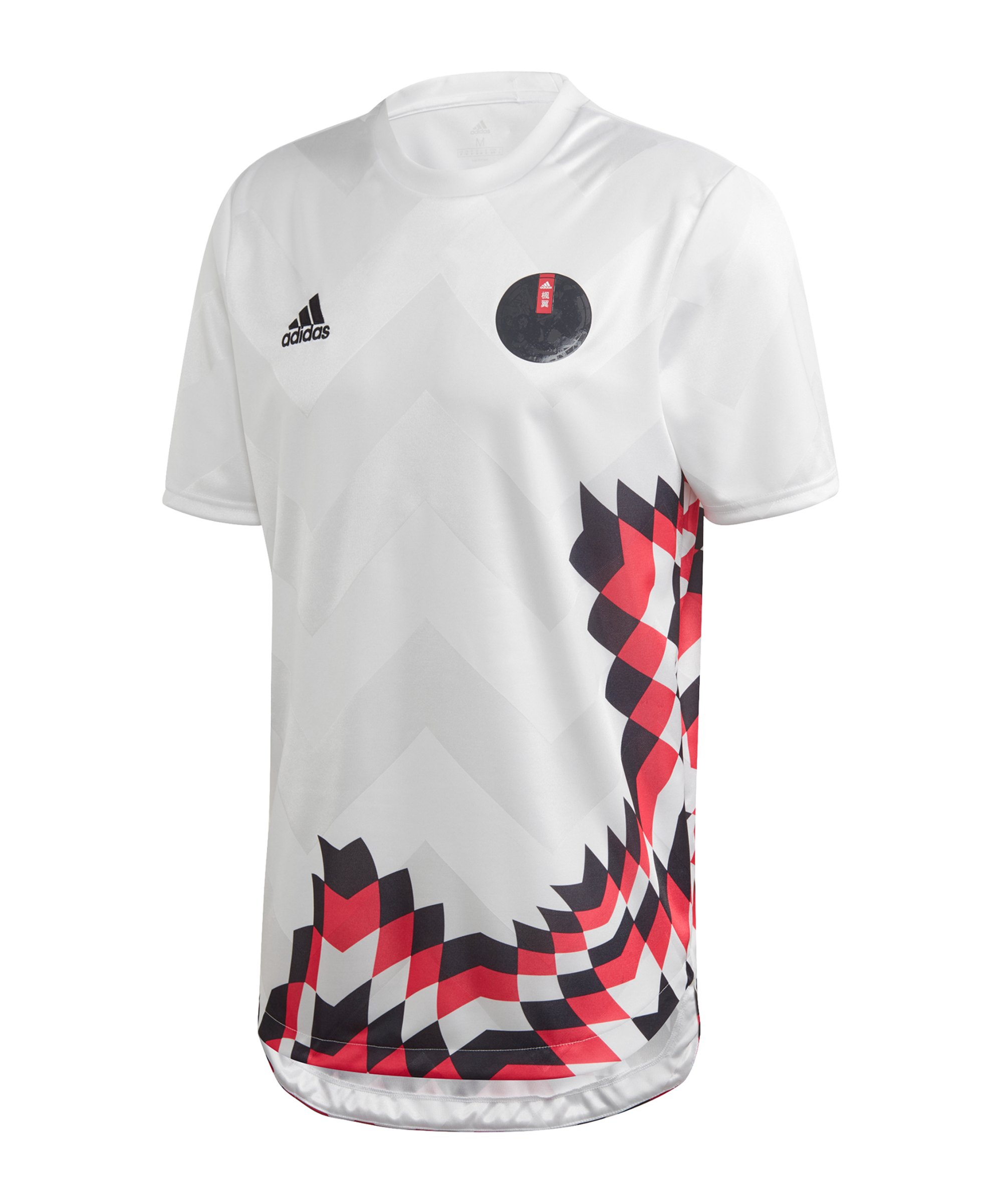 adidas Captain Tsubasa Trikot Weiss Schwarz Pink - weiss