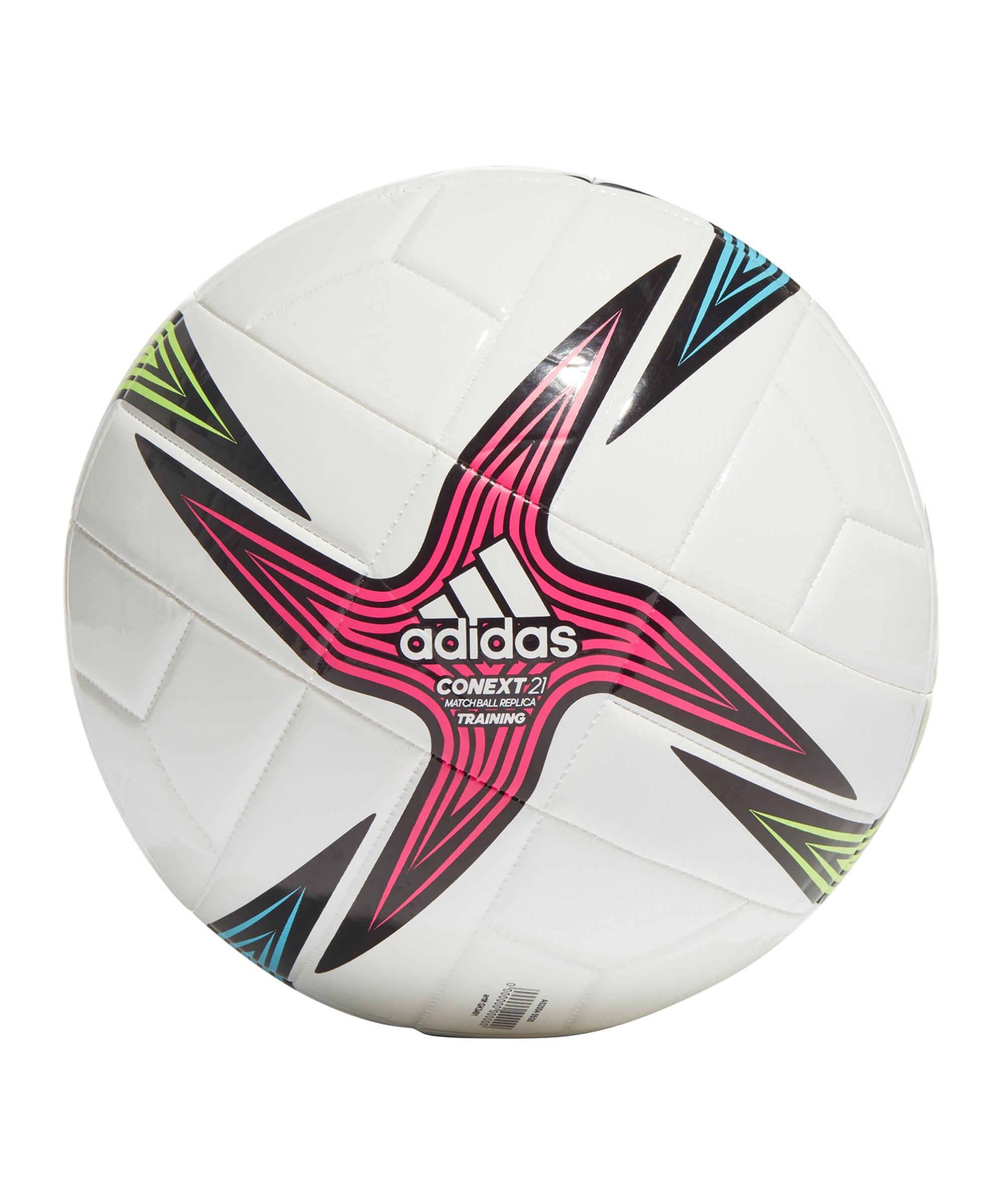 adidas Conext 21 TRN Trainingsball Weiss - weiss