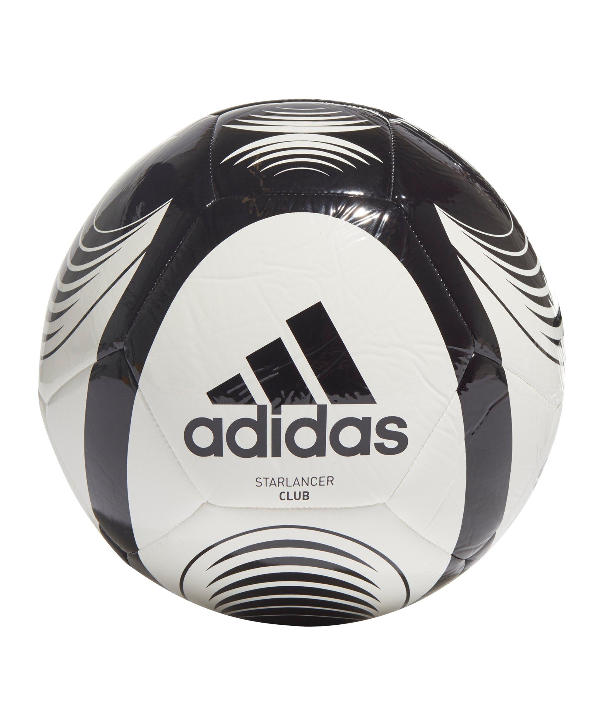 adidas Starlancer Club Fussball Weiss Schwarz - weiss