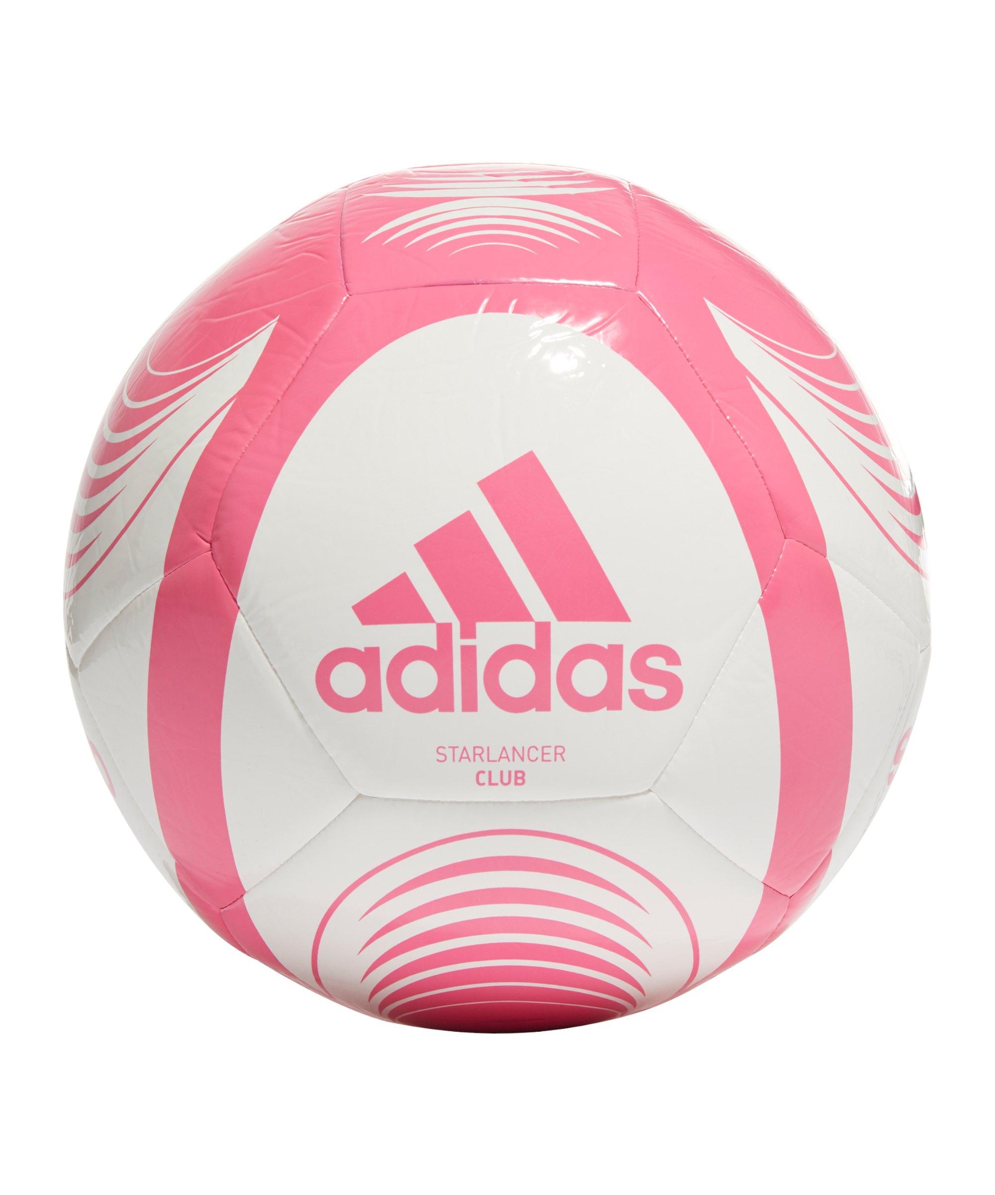 adidas Starlancer Club Fussball Weiss Pink - weiss