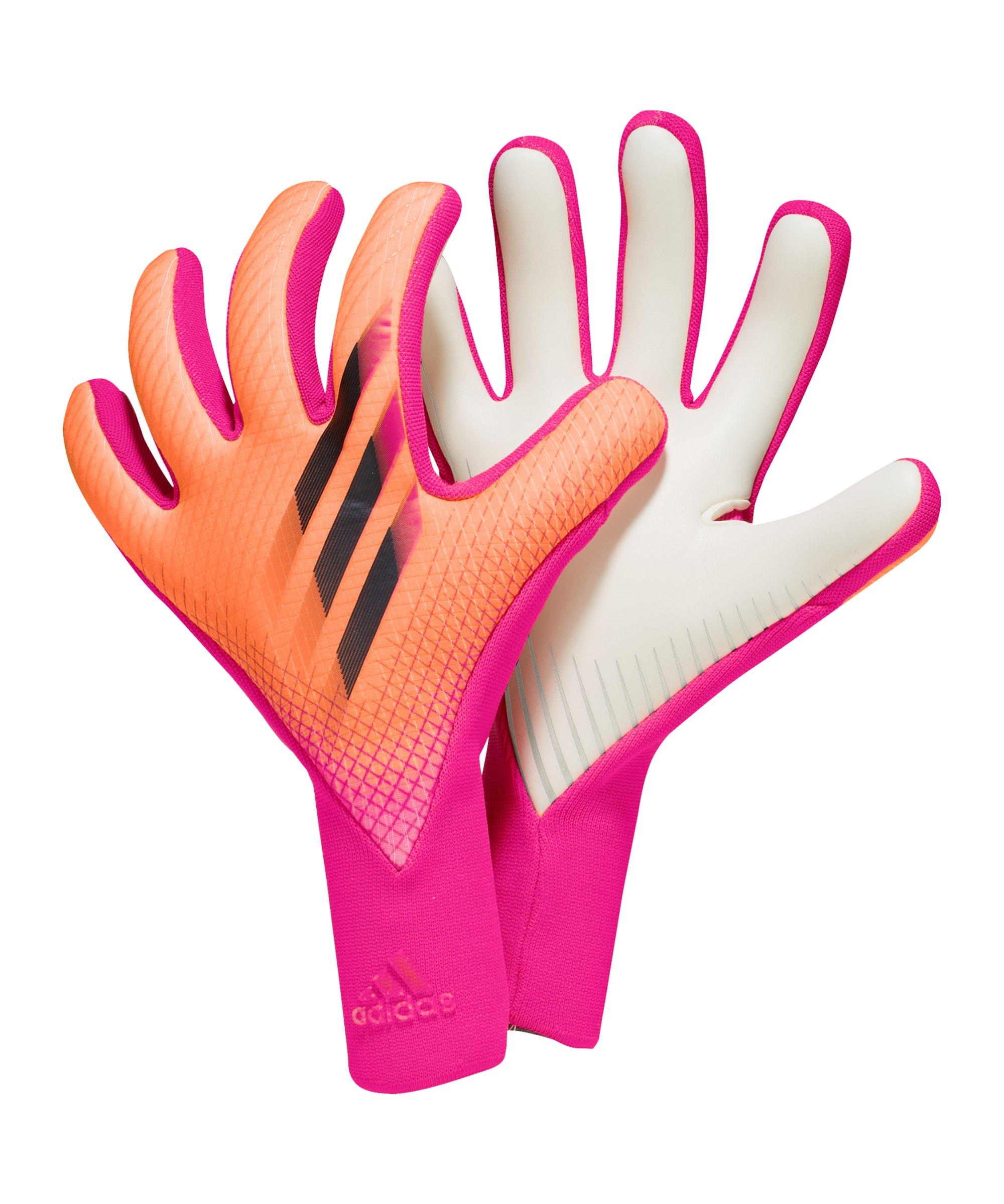 adidas X Pro Superspectral Torwarthandschuh Pink Schwarz - pink