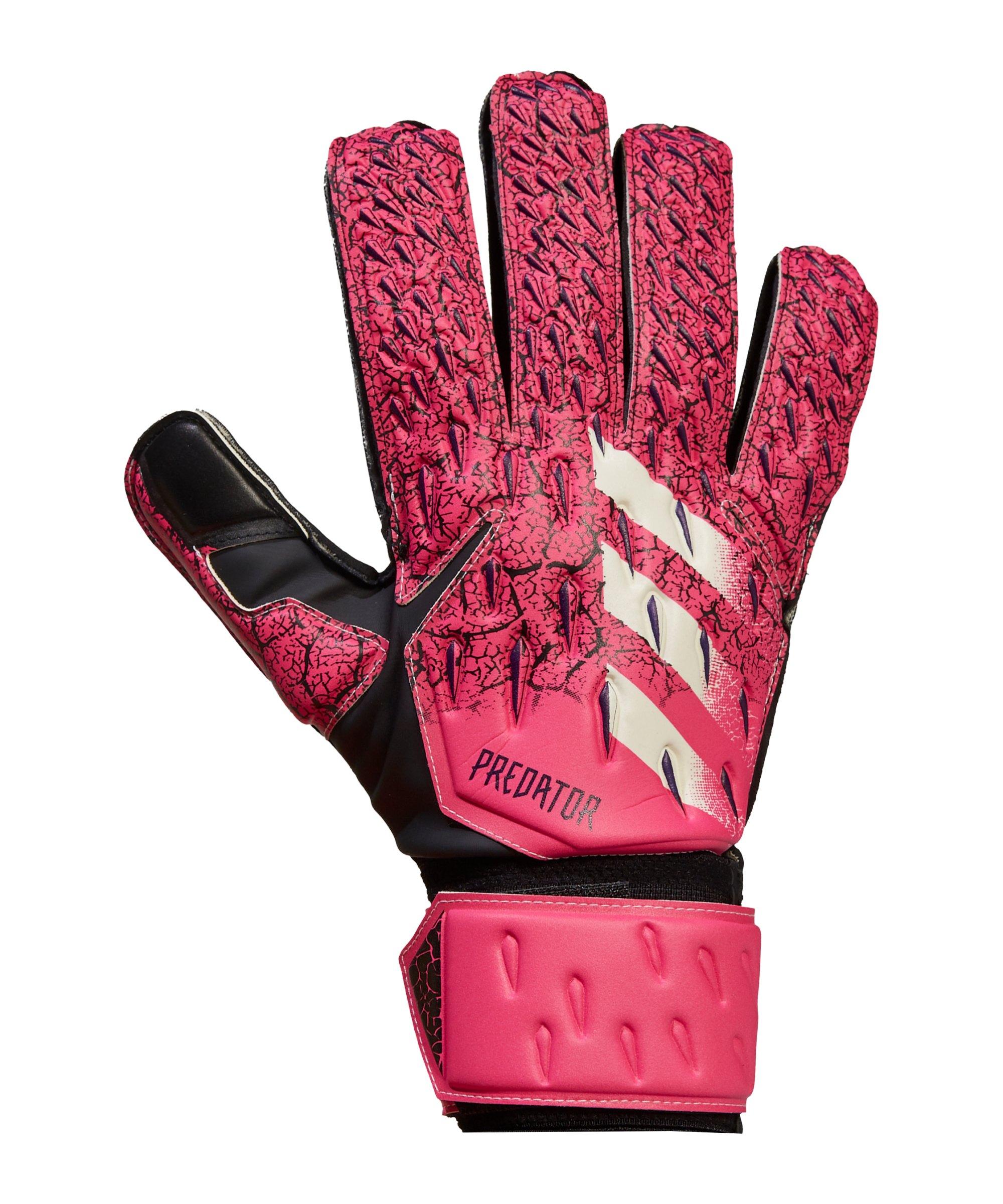 adidas Predator Match Torwarthandschuhe Pink Lila - pink