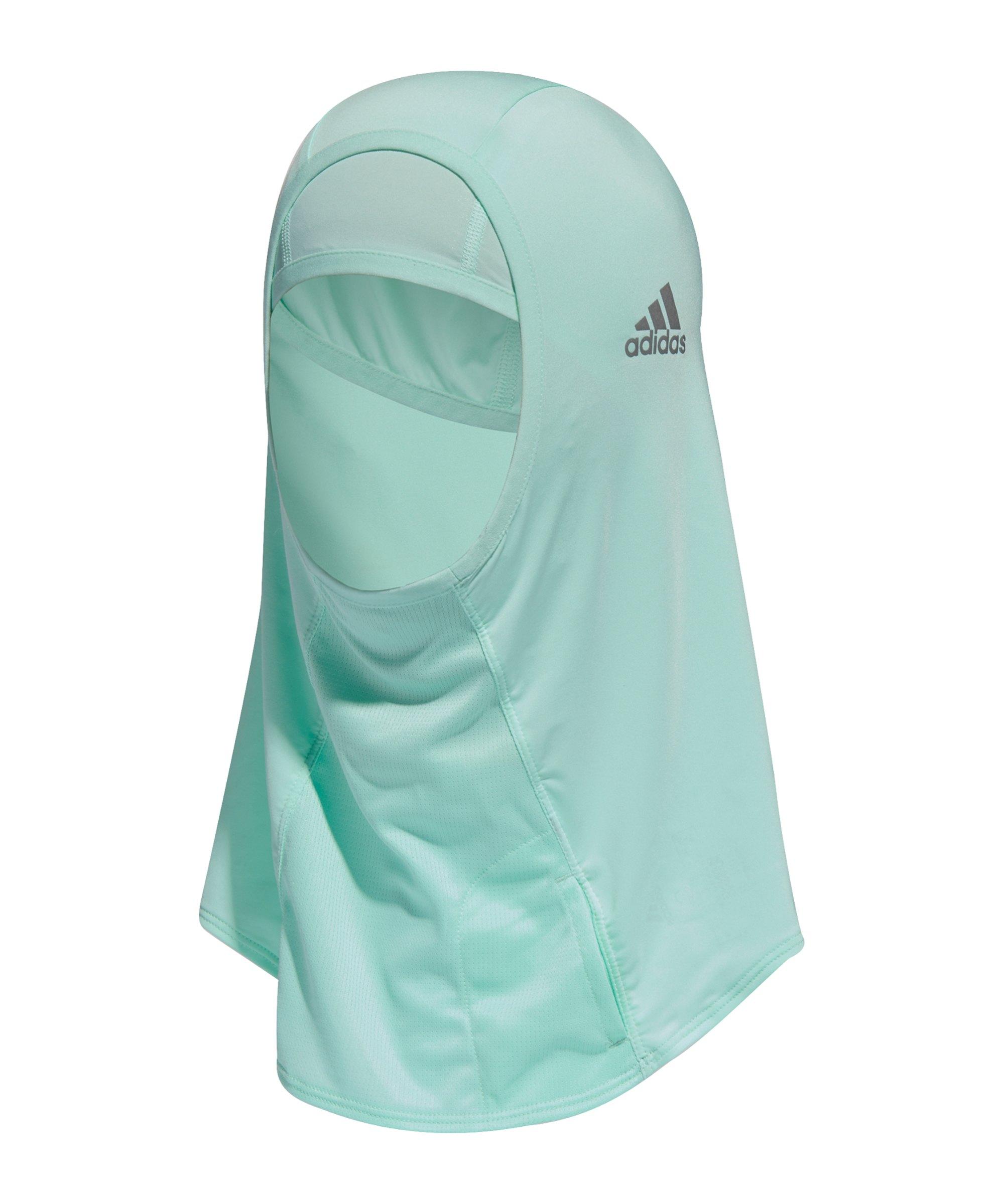 adidas Hijab II Kopftuch Running Damen Blau - blau