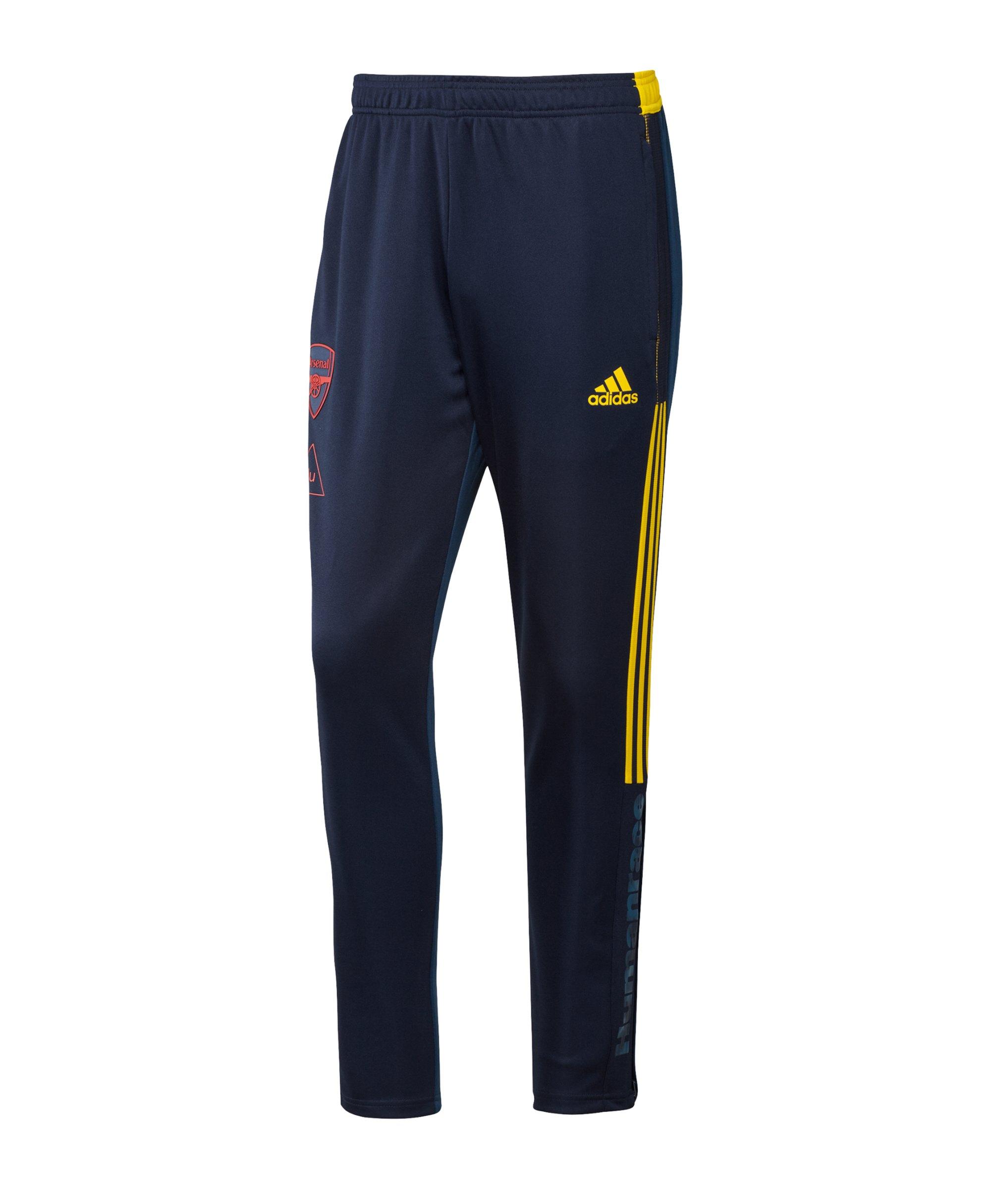 adidas FC Arsenal London Human Race Hose Blau - blau
