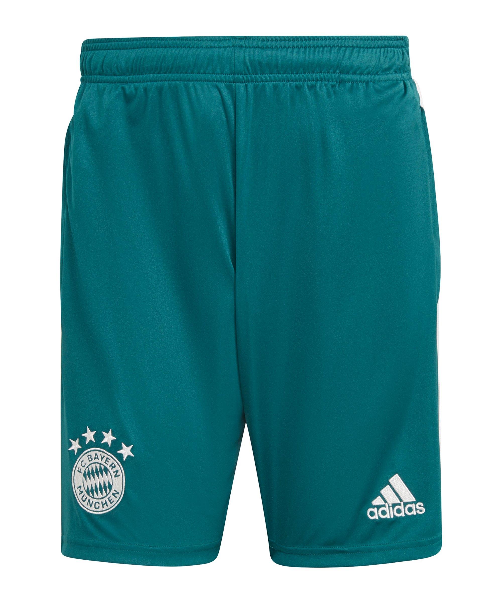 adidas FC Bayern München Short Grün - gruen