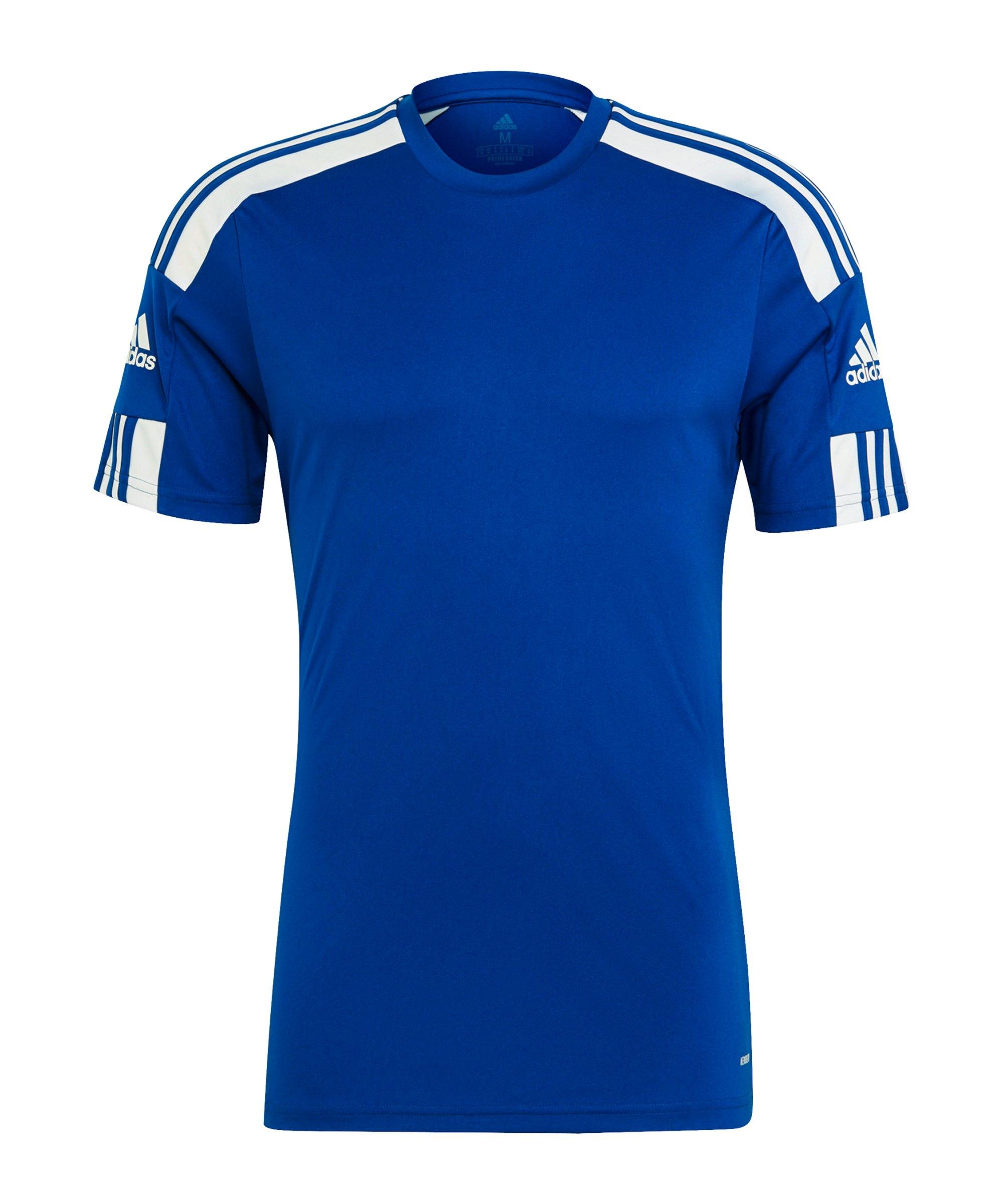 adidas Squadra 21 Trikot Blau Weiss - blau