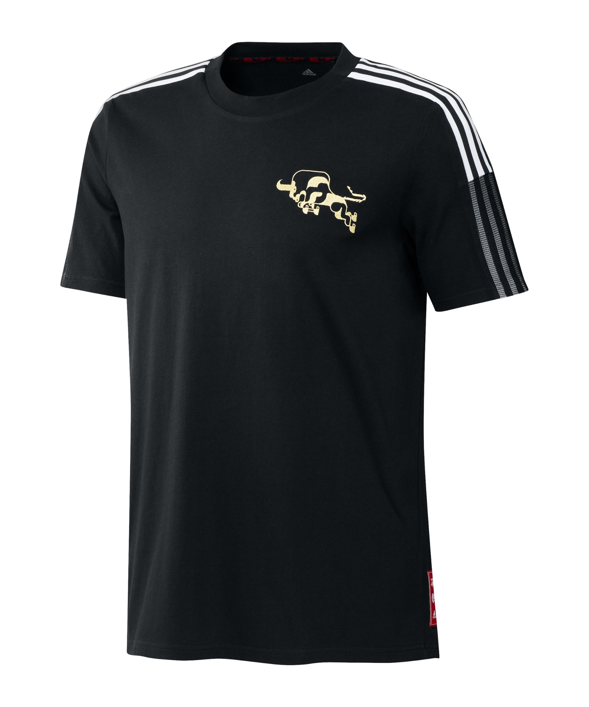 adidas Manchester United CNY T-Shirt Schwarz - schwarz