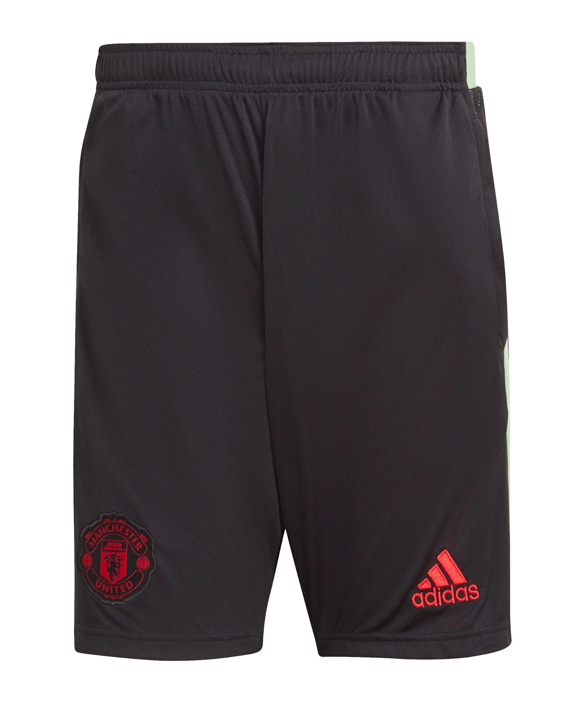 adidas Manchester United Short Schwarz - schwarz