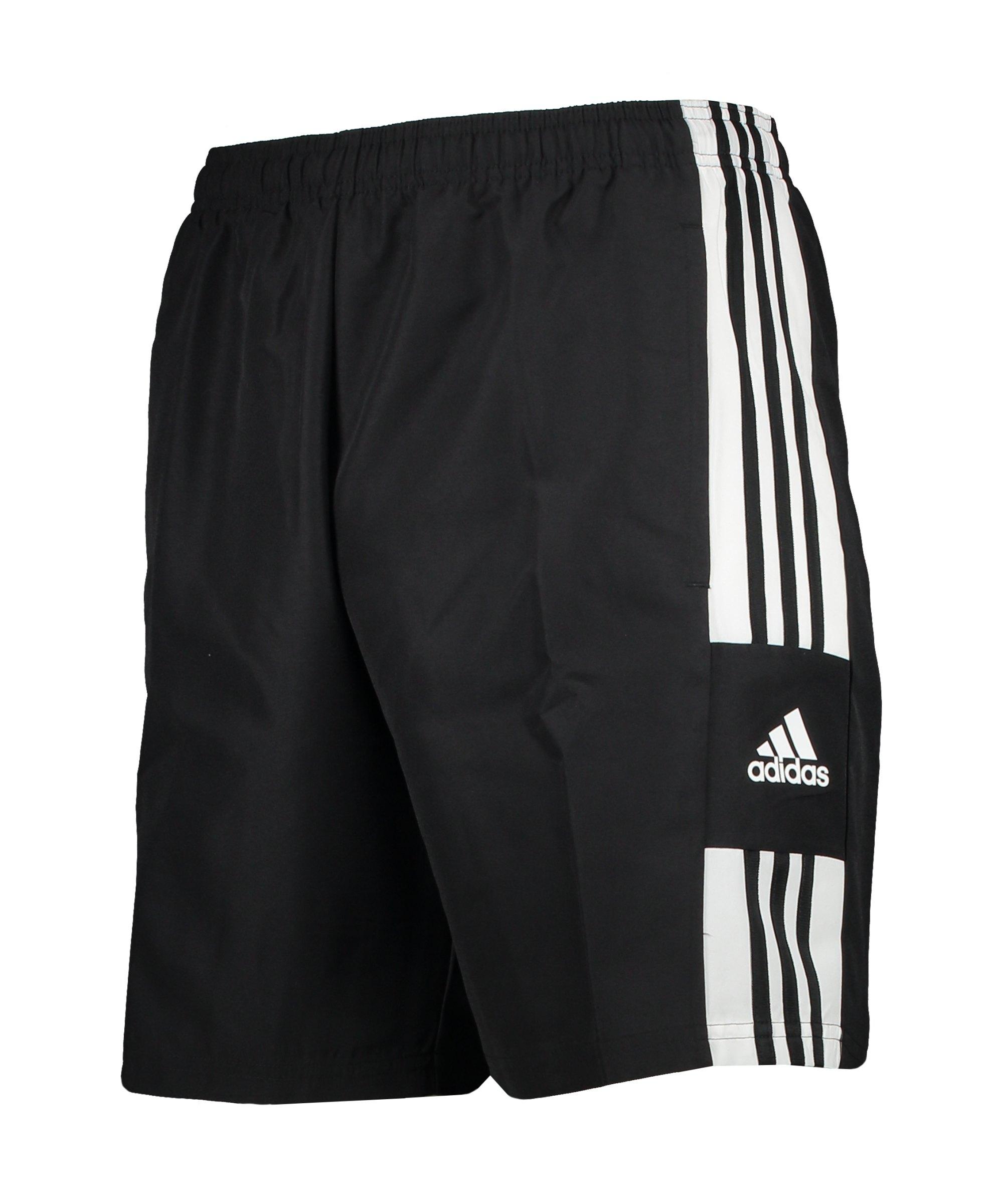 adidas Squadra 21 DT Short Schwarz Weiss - schwarz