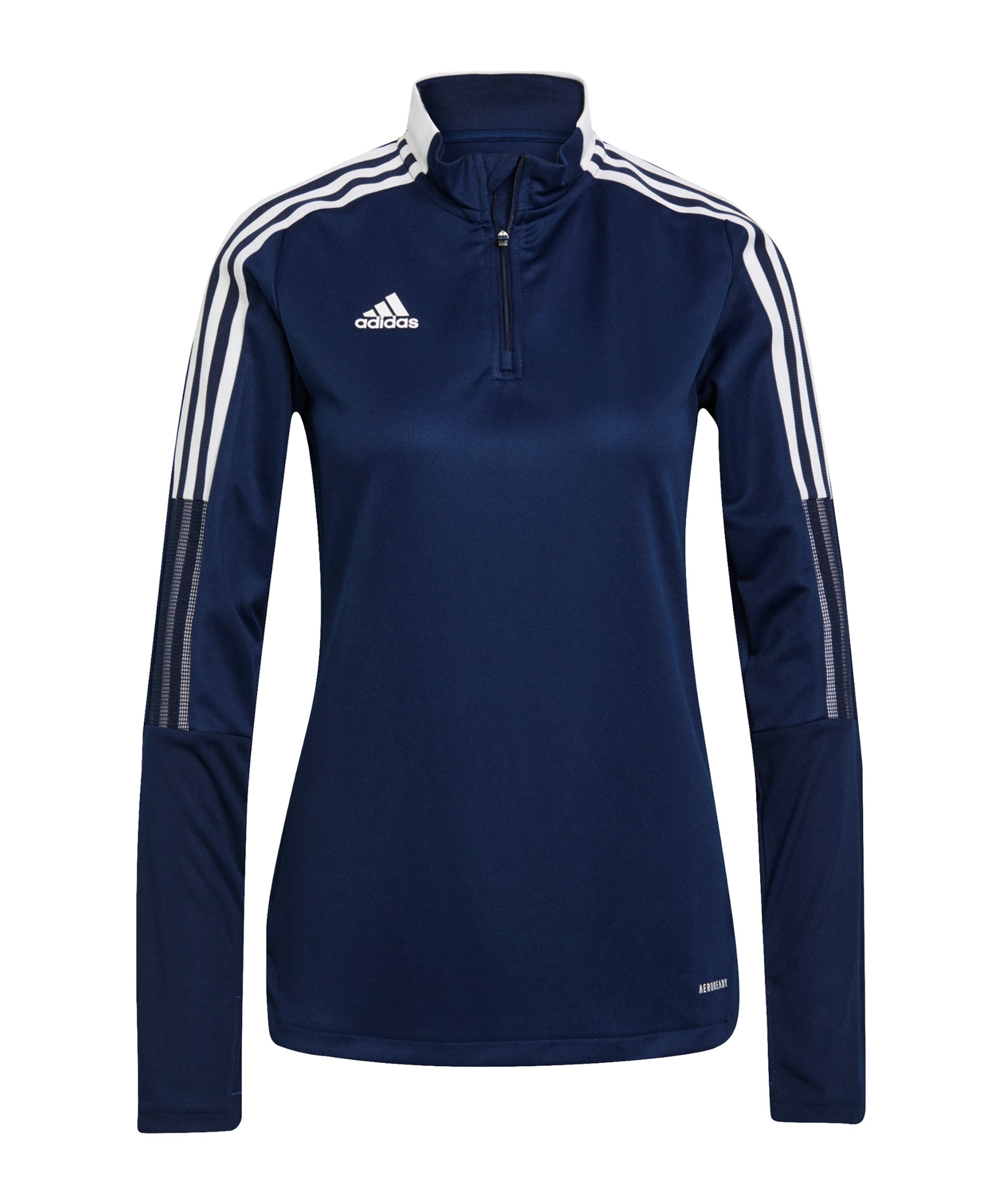 adidas Tiro 21 Trainingstop Damen Dunkelblau - blau