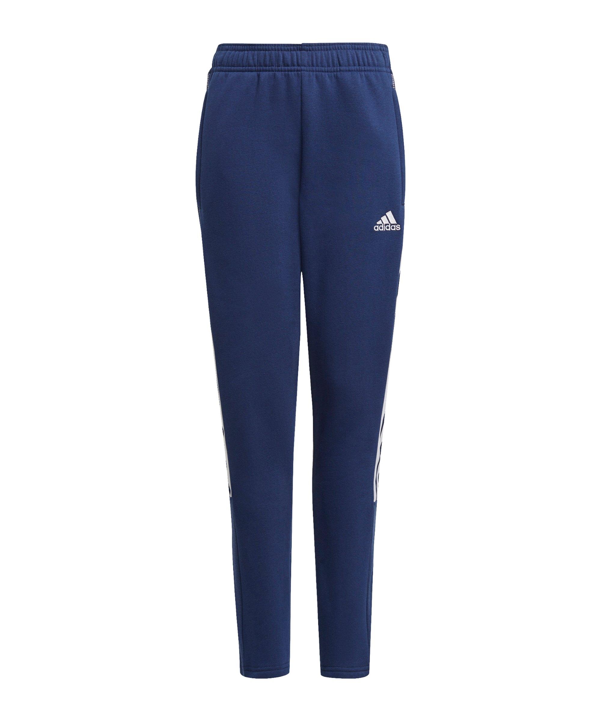 adidas Tiro 21 Jogginghose Kids Dunkelblau - blau