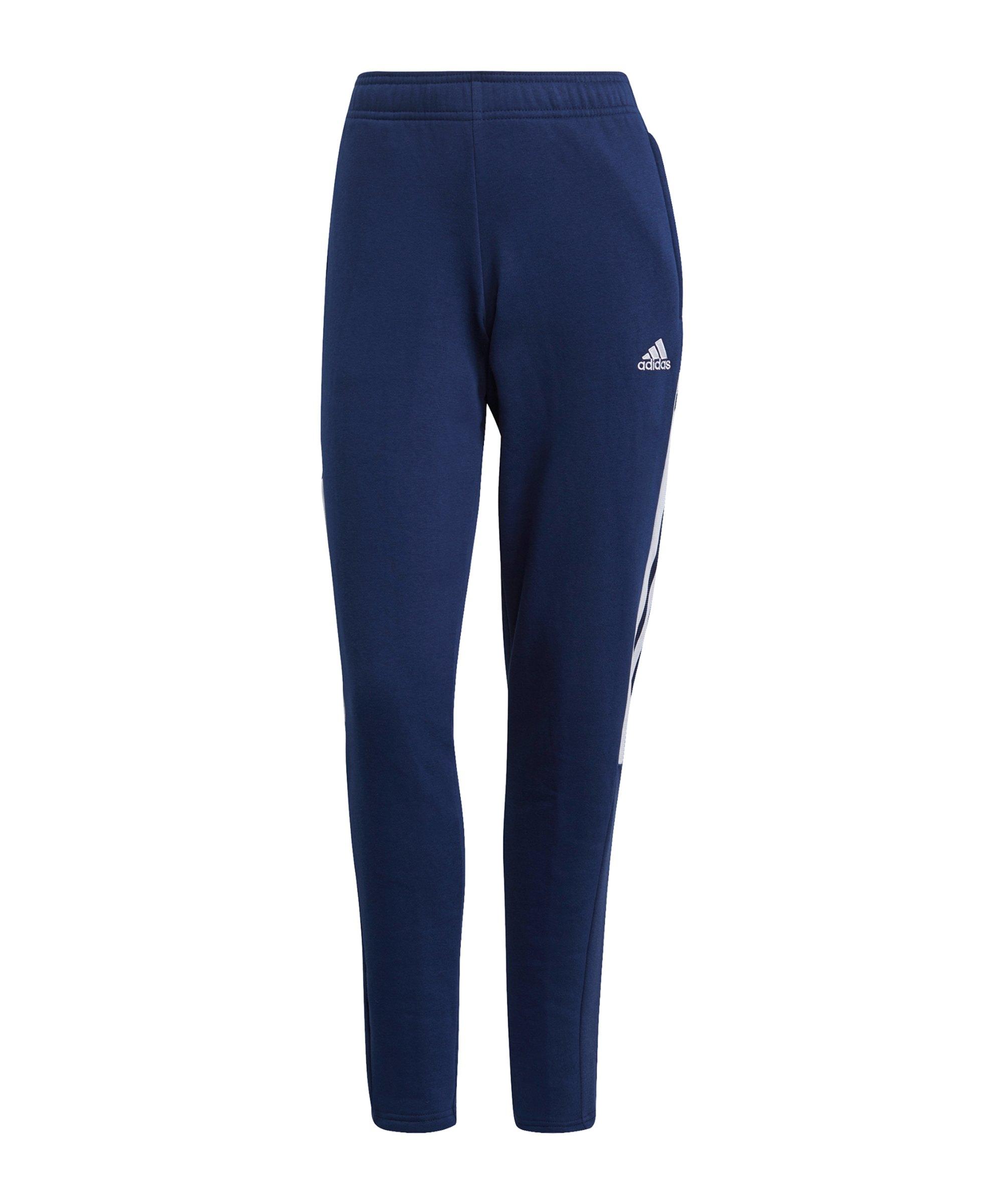 adidas Tiro 21 Jogginghose Damen Dunkelblau - blau
