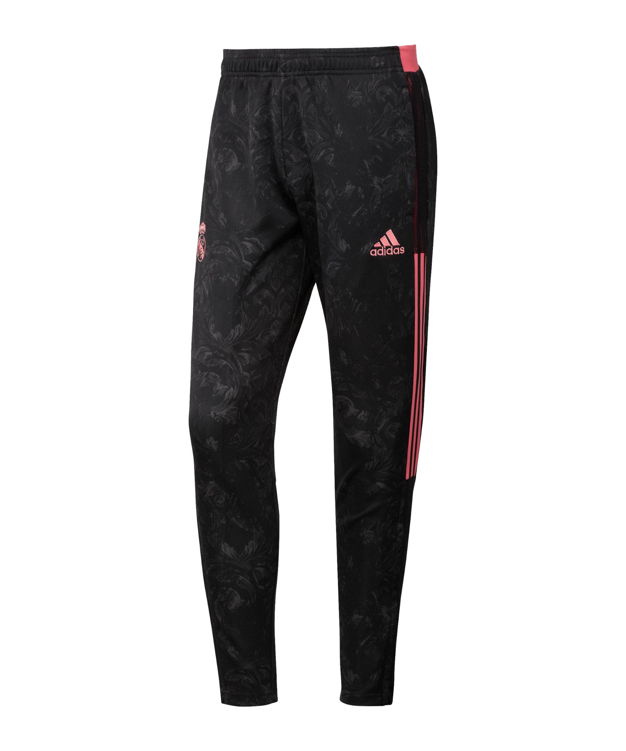 adidas Real Madrid UCL Trainingshose Schwarz - schwarz
