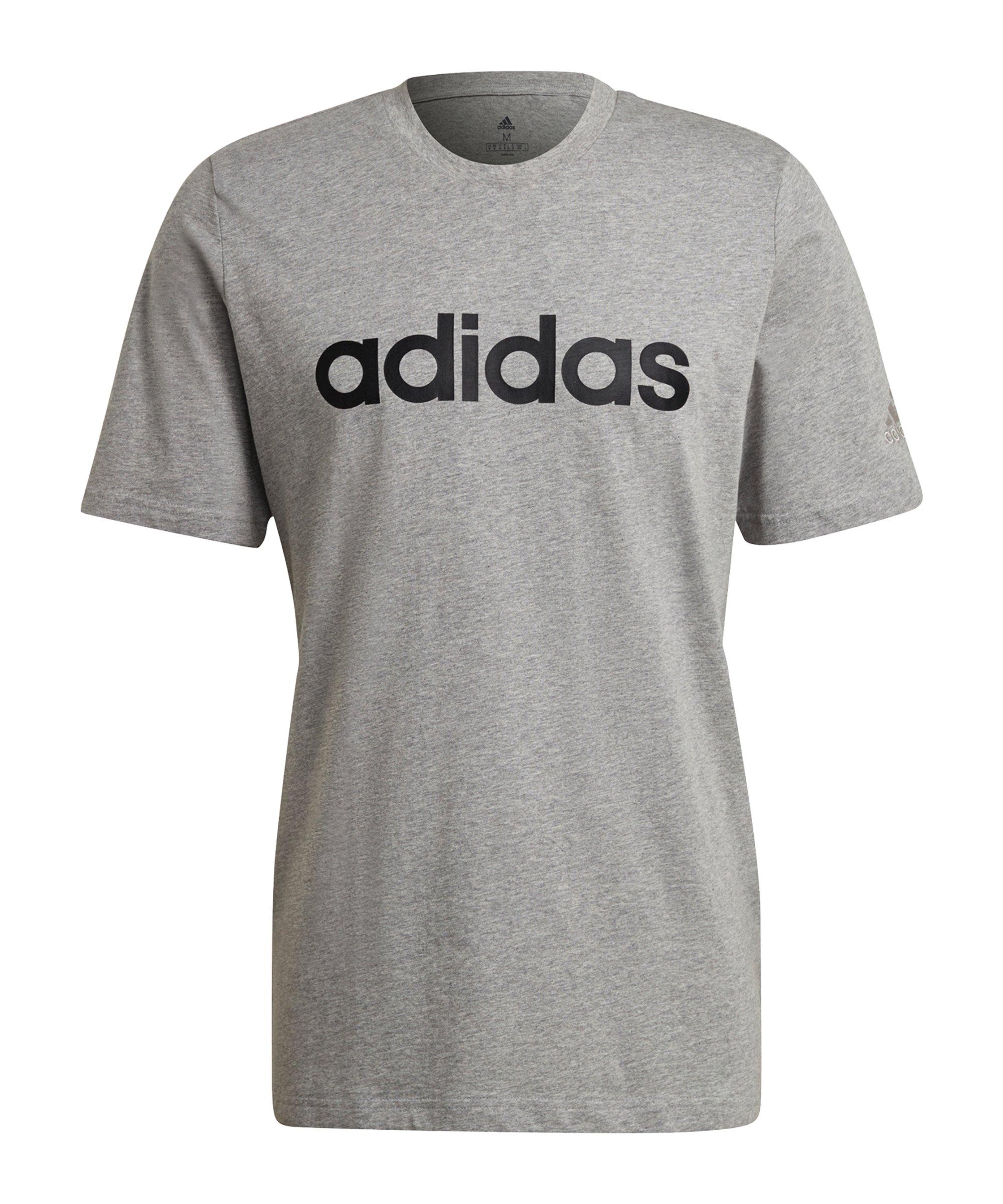 adidas Essentials T-Shirt Grau - grau