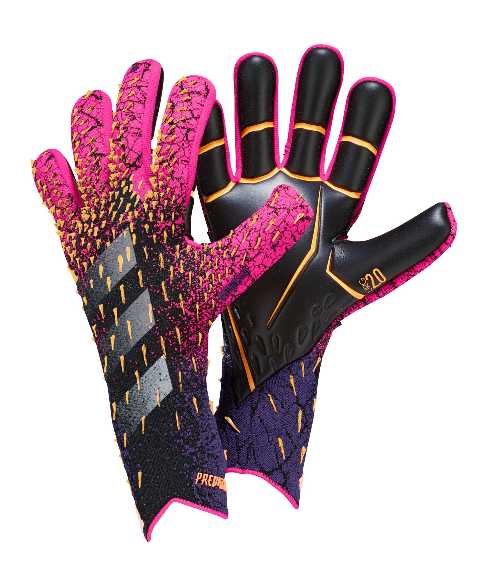 adidas Predator Pro Superspectral TW-Handschuh Schwarz Pink - schwarz