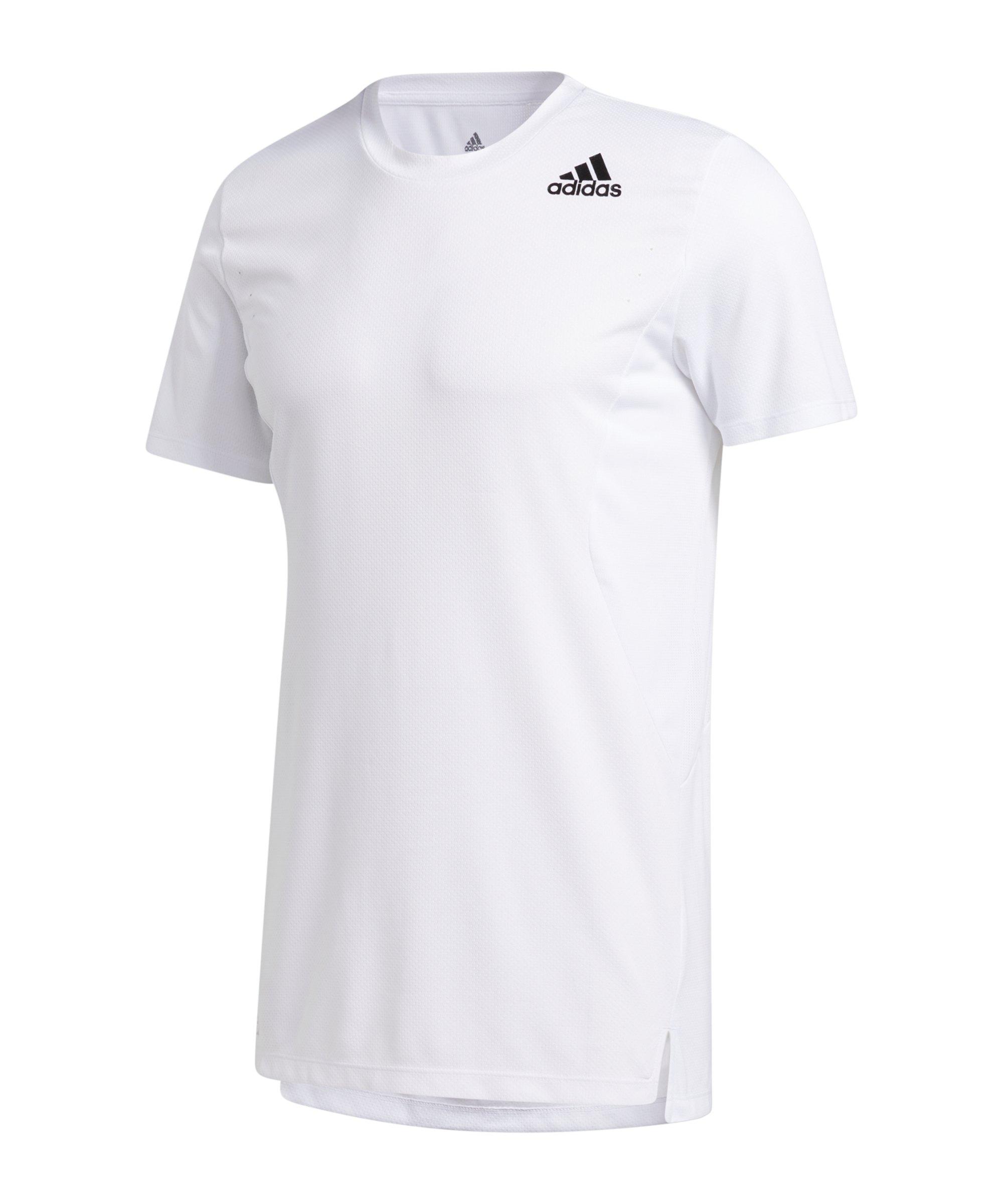 adidas HEAT.RDY T-Shirt Weiss - weiss