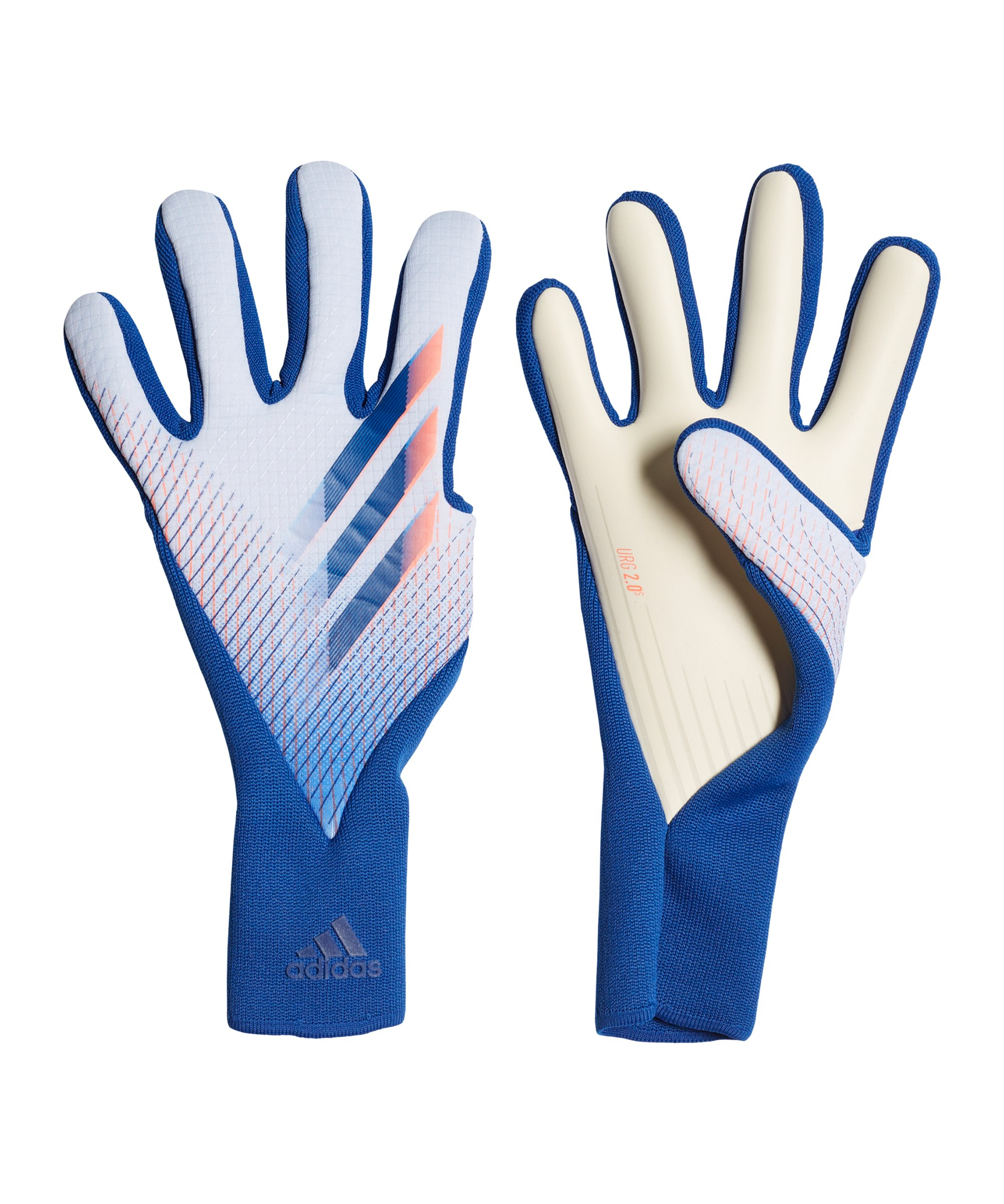 adidas X Glory Hunter Pro Torwarthandschuhe Blau - blau