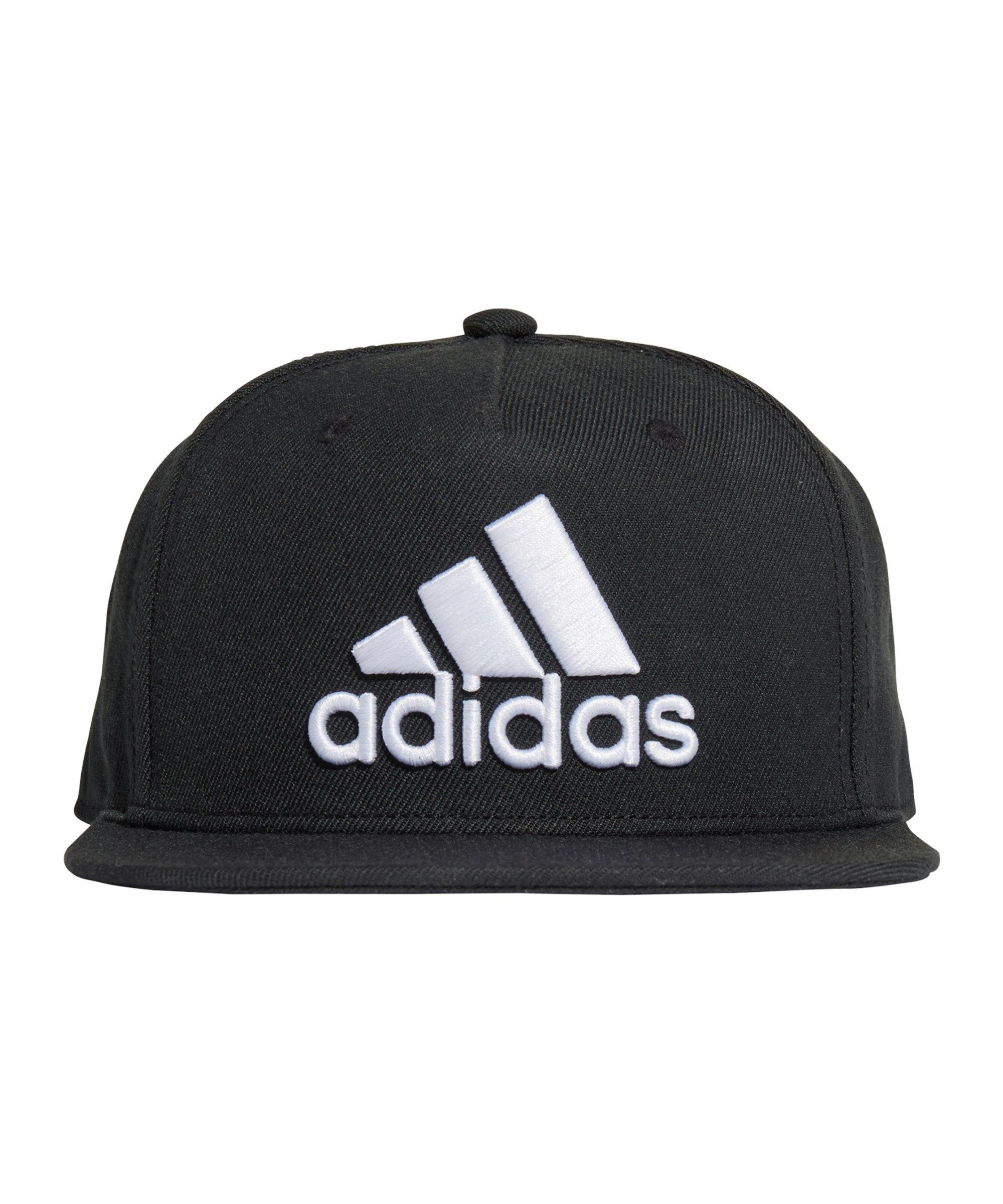 adidas Snapback Logo Cap Schwarz - schwarz